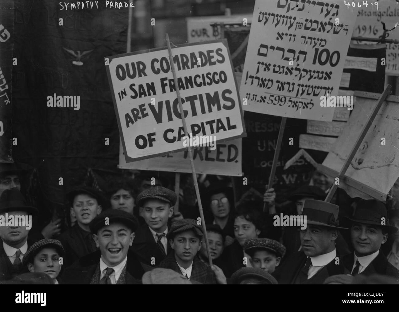 Socialist Labor Day Parade - Stock Image