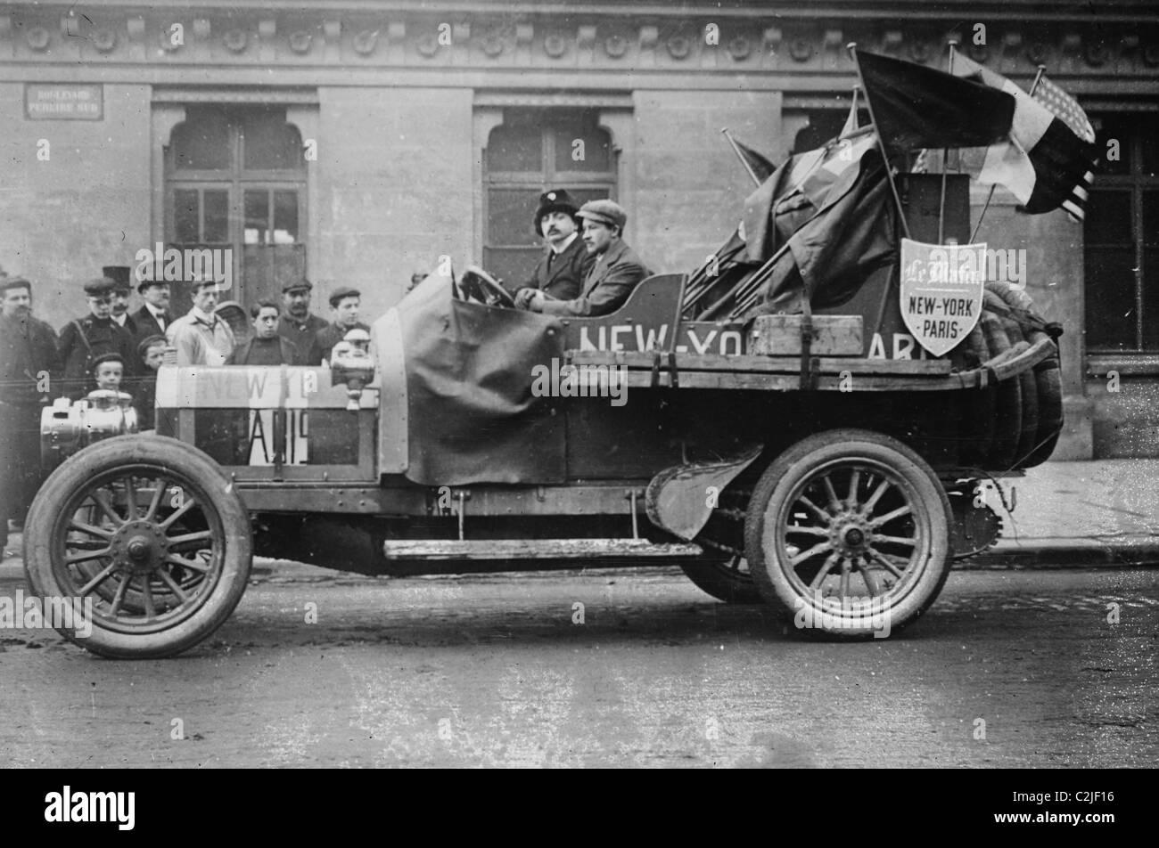 Paris race: Italian car, New York - Stock Image