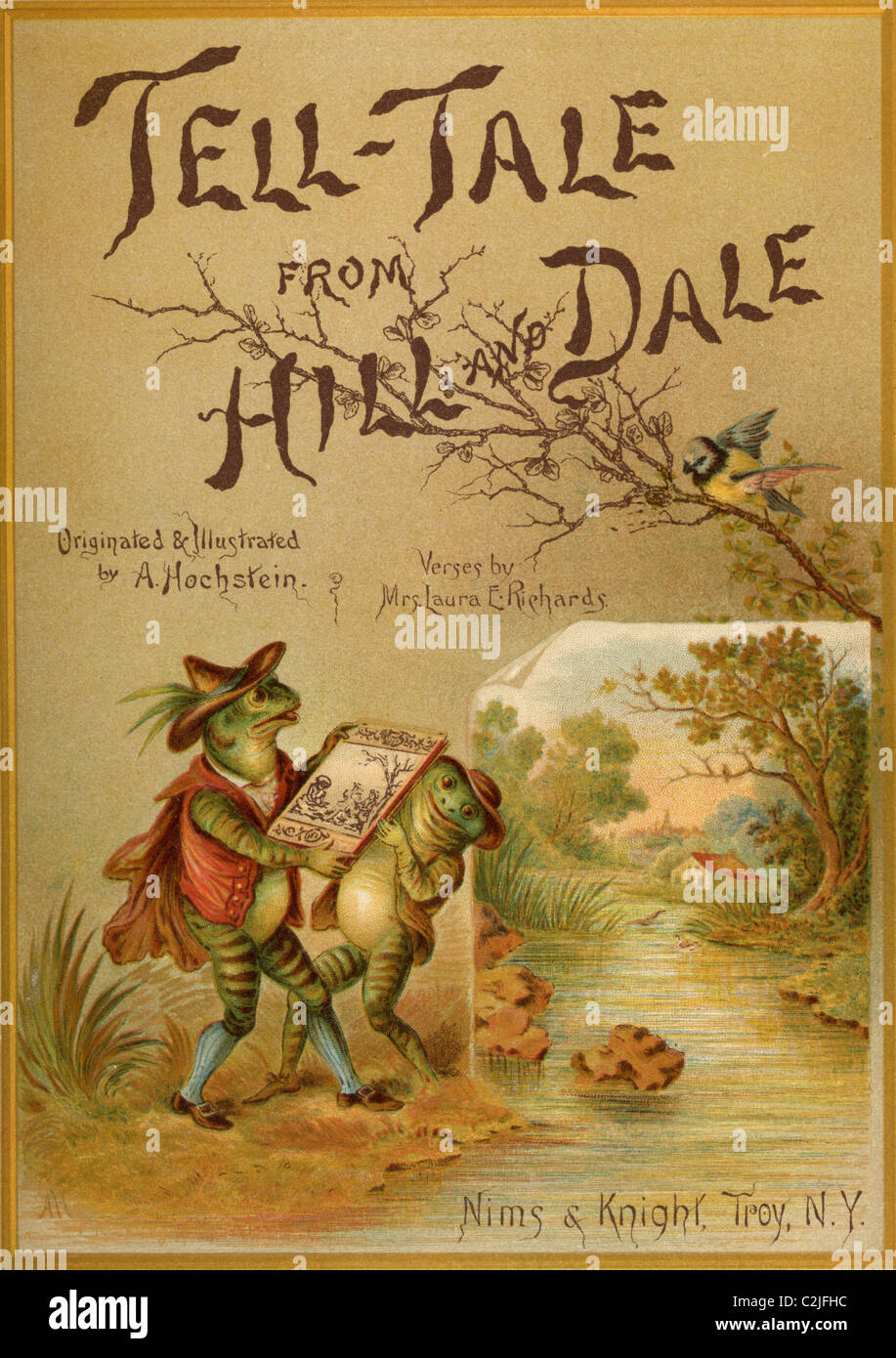 Cover of Book; 'Tell Tale from Hill & Dale - Stock Image