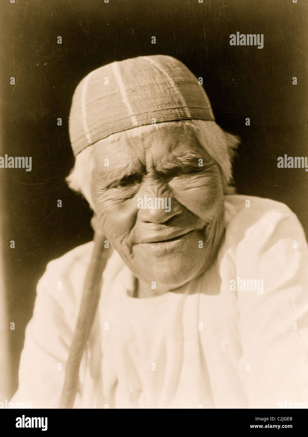 Yurok Widow - Stock Image