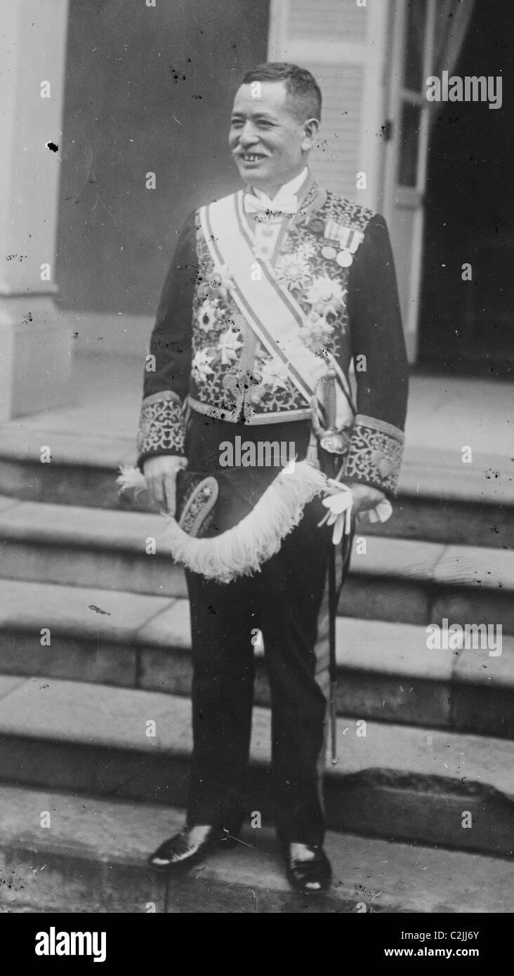 Viscount Ishii Kikujirō (石井菊次郎) - Stock Image