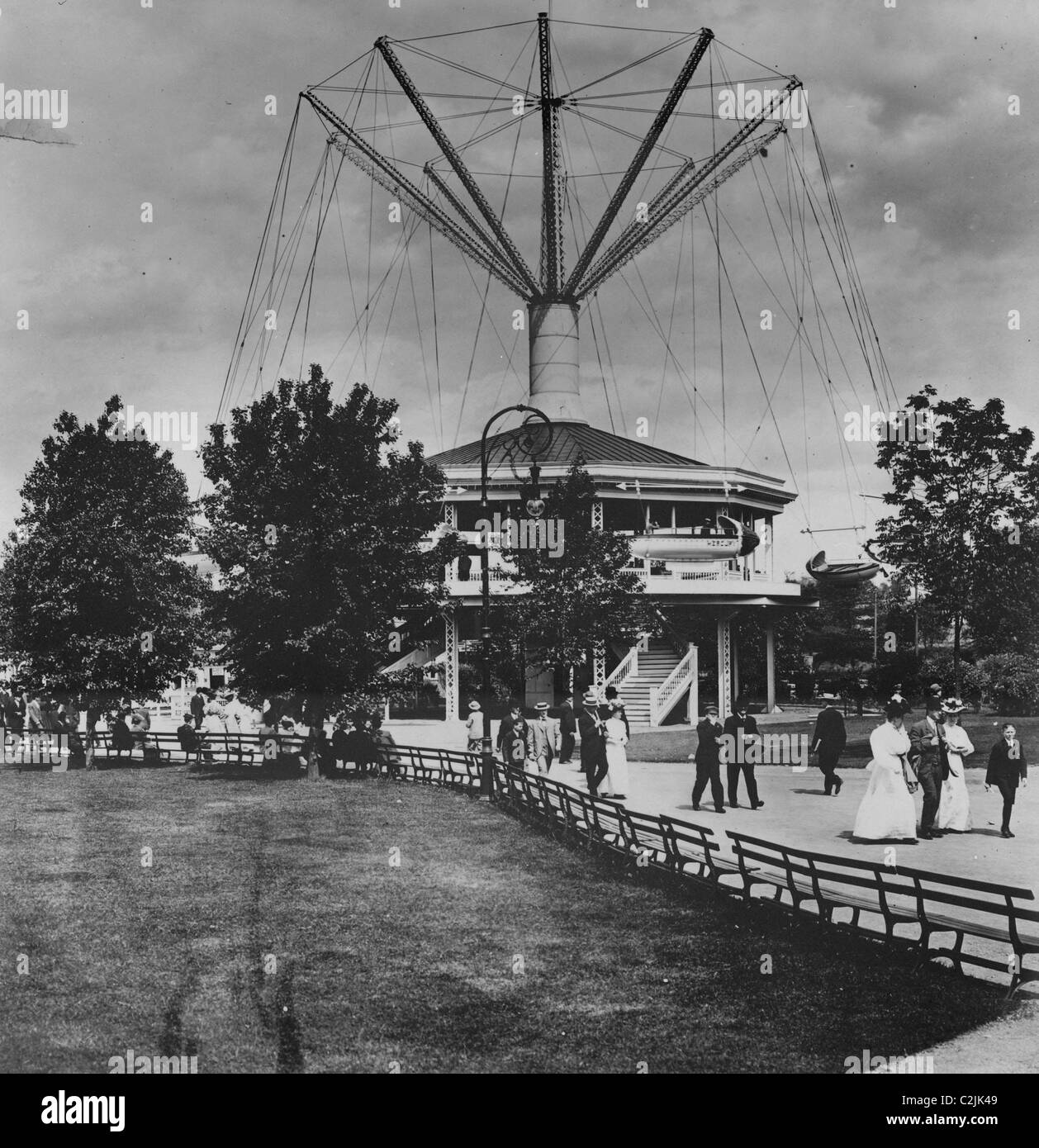 2ad2cfd4e6041 Willow Grove Park airships, Willow Grove, Pa Stock Photo: 36060201 ...