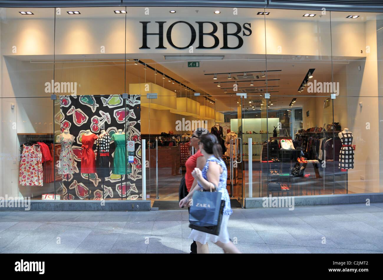 ae5d3c0d650d Hobbs womens designer clothes store London shopping centre - Stock Image