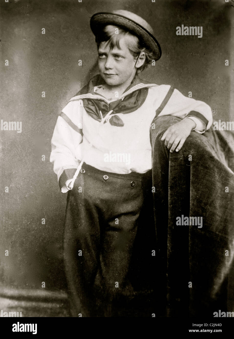 King George as a Boy - Stock Image