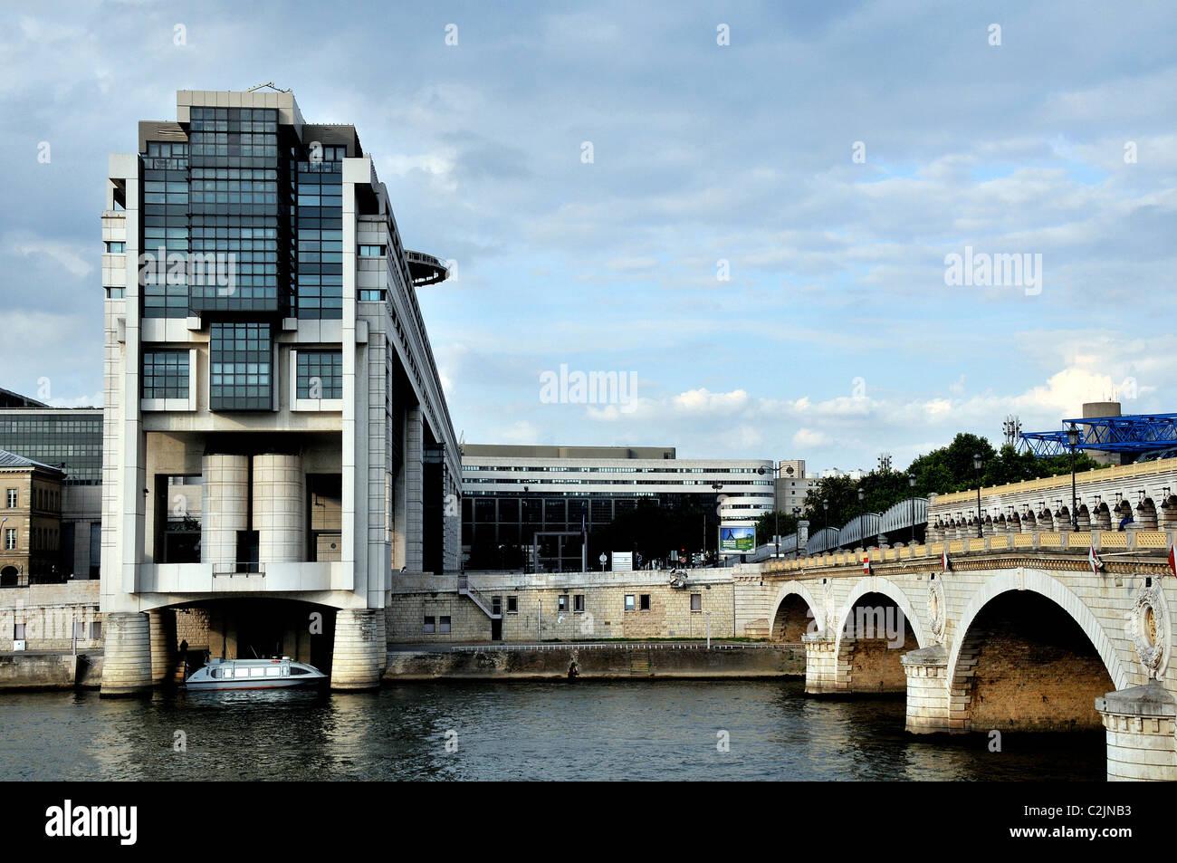 finance ministry Bercy Paris France - Stock Image