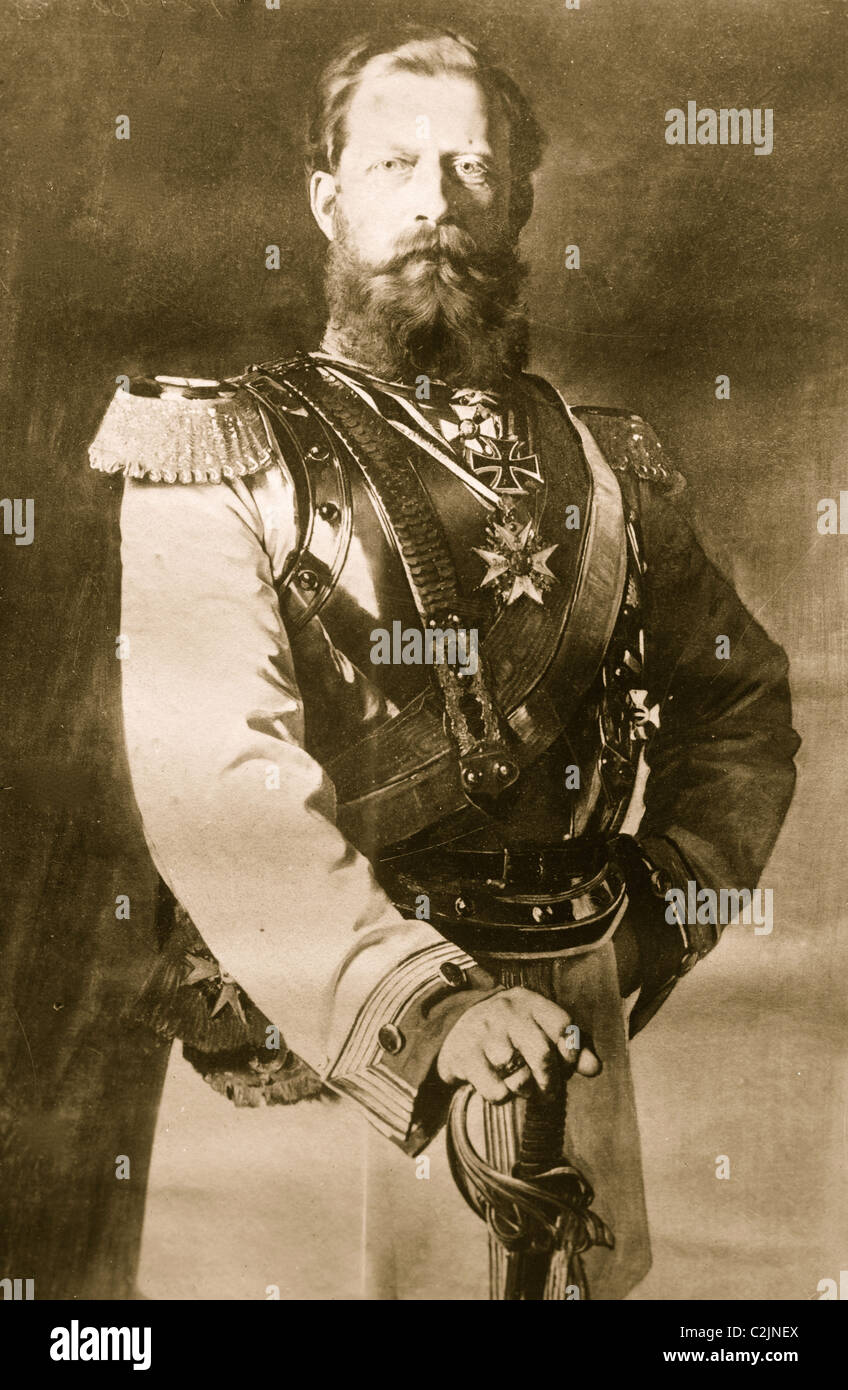 Emperor Frederick of Germany - Stock Image