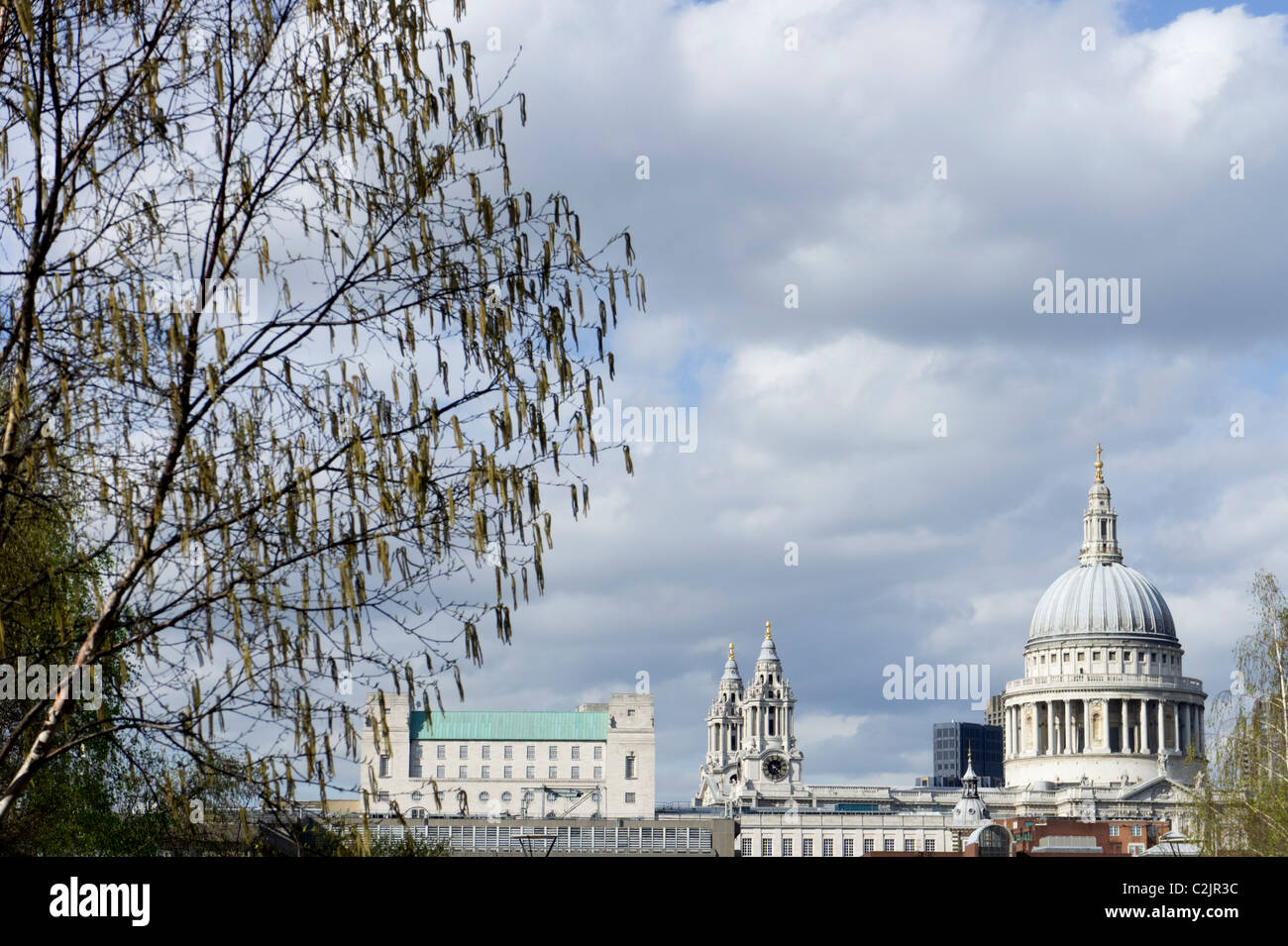 St. Paul's Cathedral in London, England, UK Stock Photo