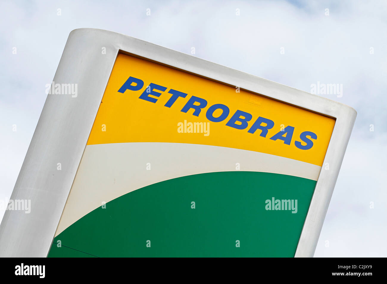 Petrobras sign Stock Photo