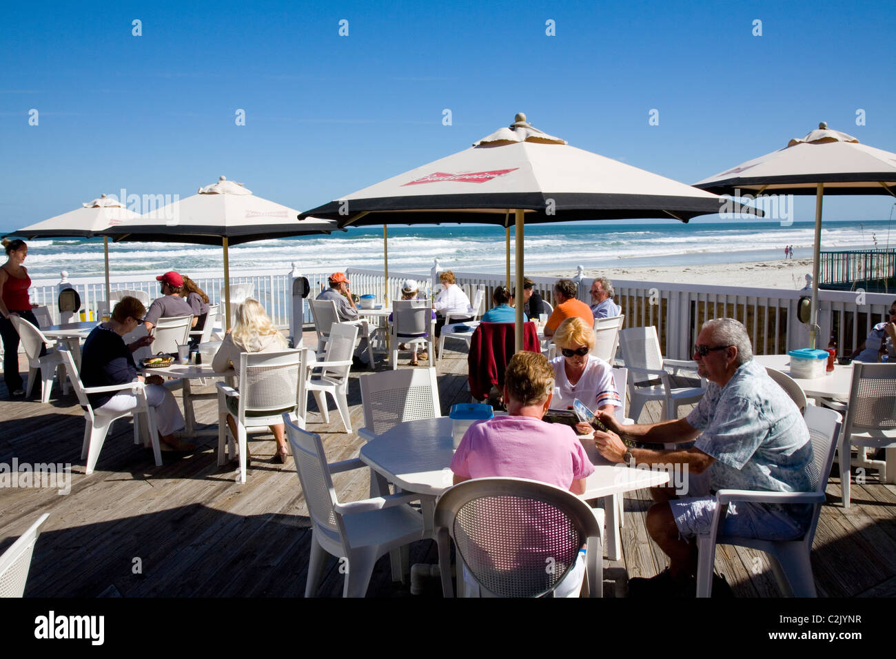 North Turn Bar And Restaurant Daytona Beach Fl Stock Photo