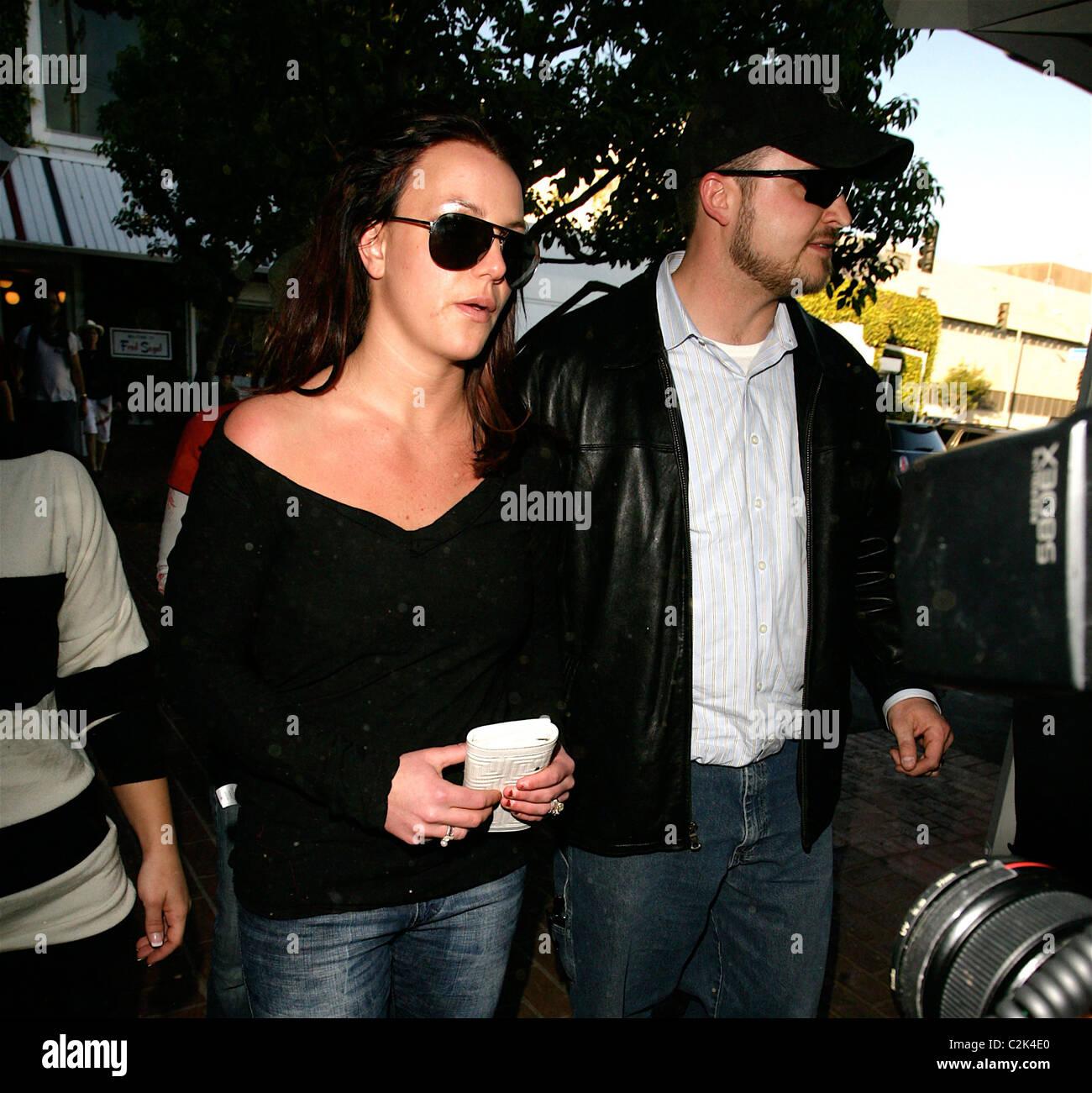 Britney Spears visits a wedding dress shop Los Angeles, California ...