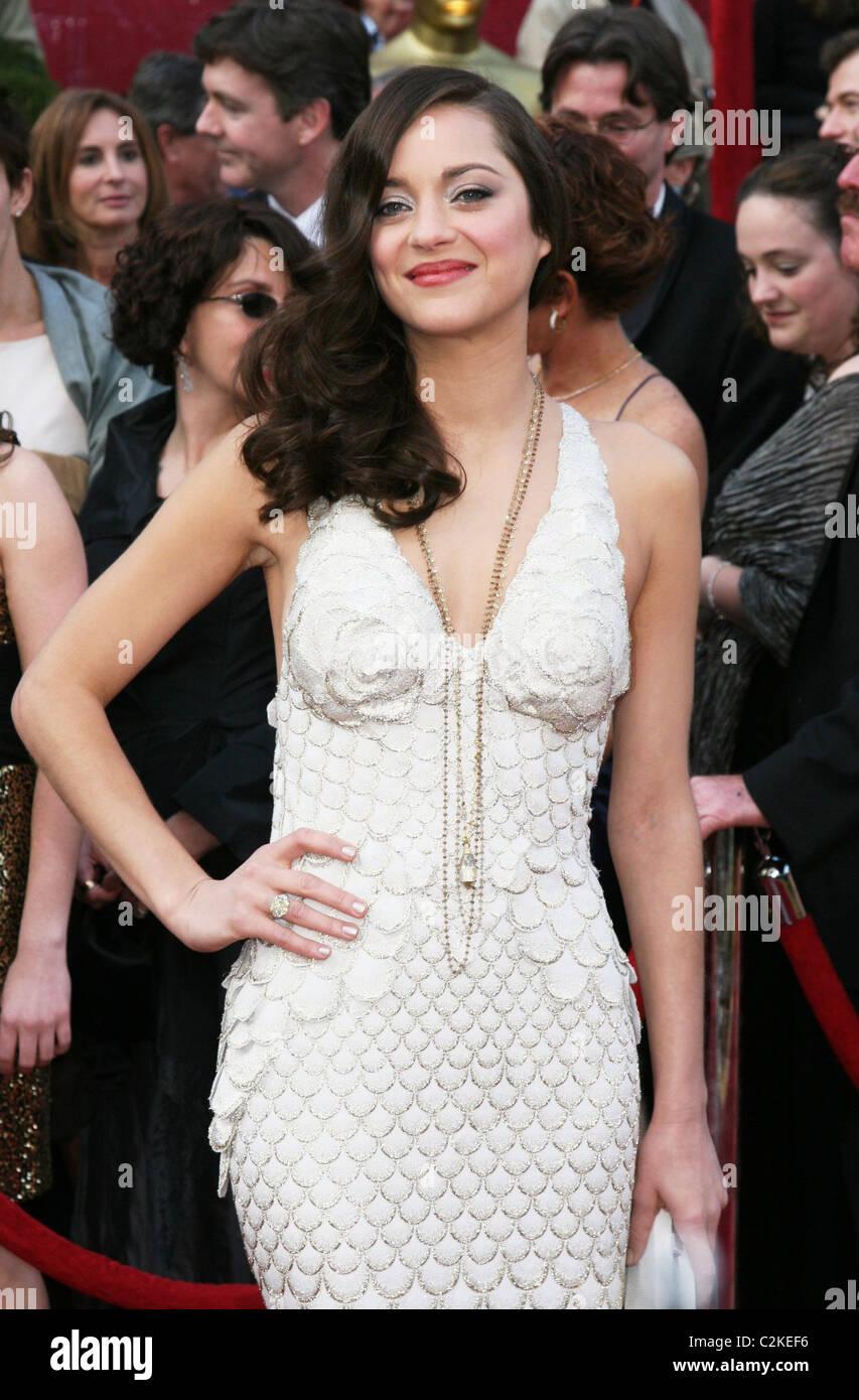 Marion Cotillard Winner Of Best Actress For La Vie En Rose