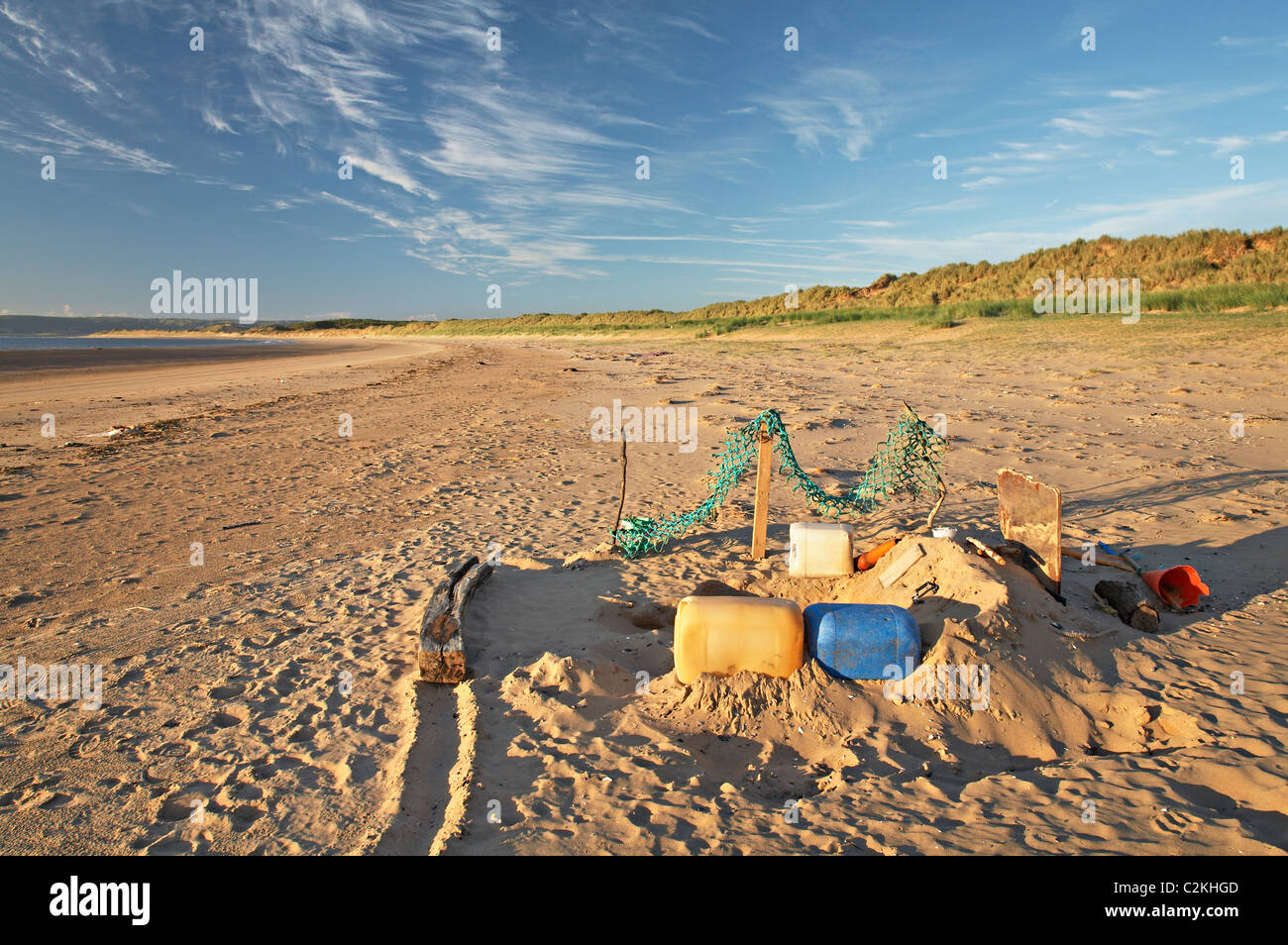 Whiteford Sands, Gower, Wales - Stock Image