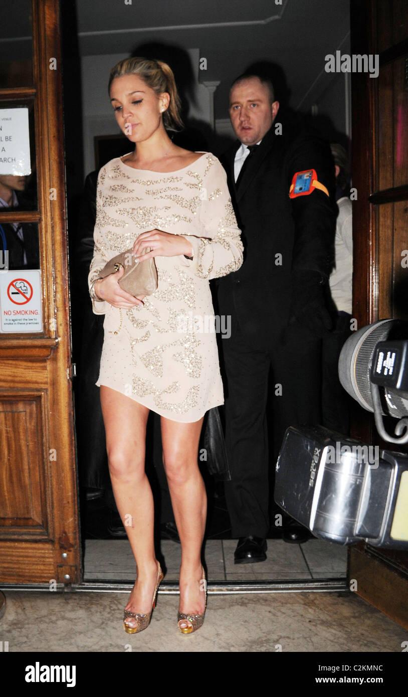 huge discount usa cheap sale vast selection Danielle Lloyd Leaving Nightclub London Stock Photos ...