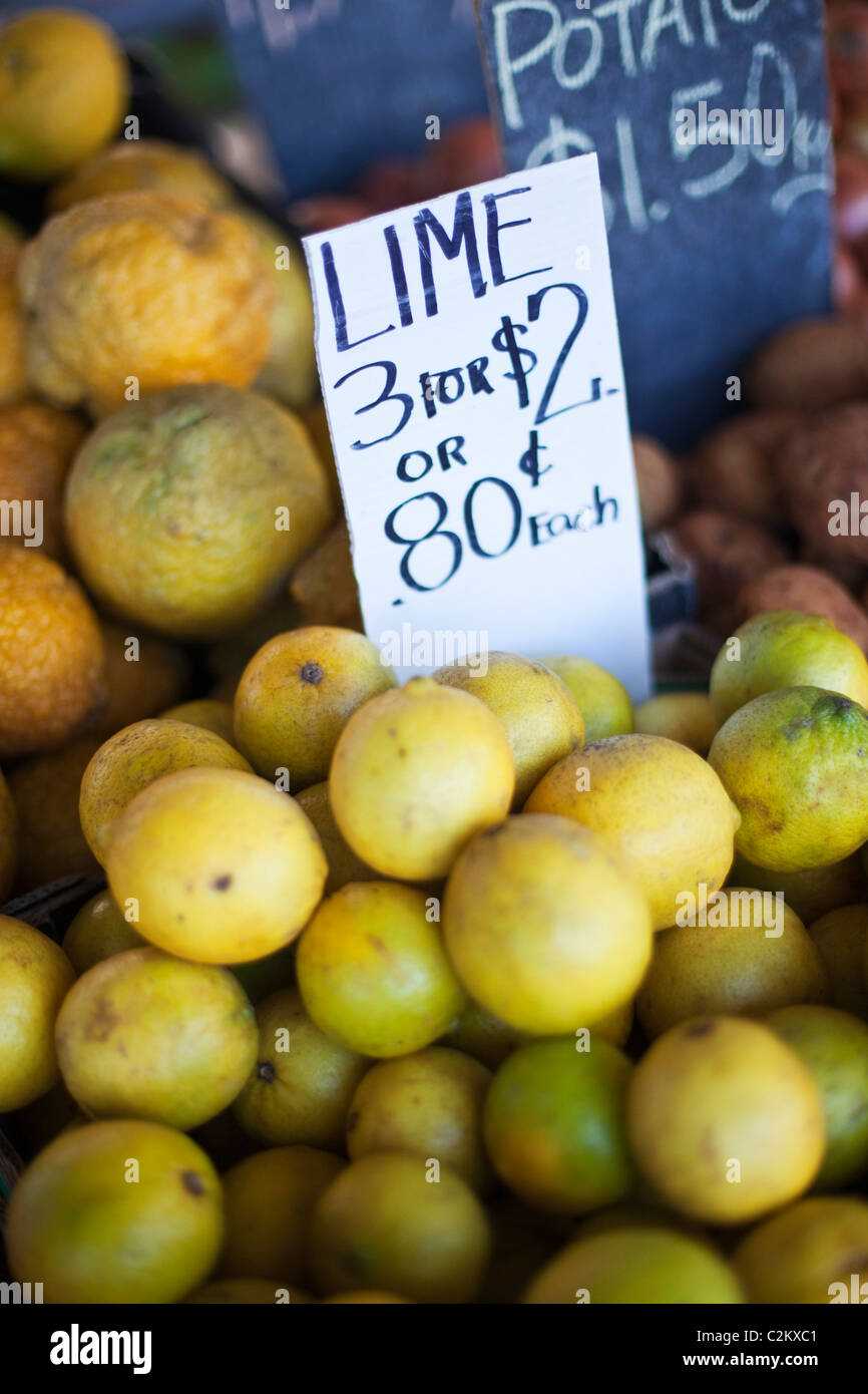 Fresh produce at Rusty's Markets. Cairns, Queensland, Australia - Stock Image