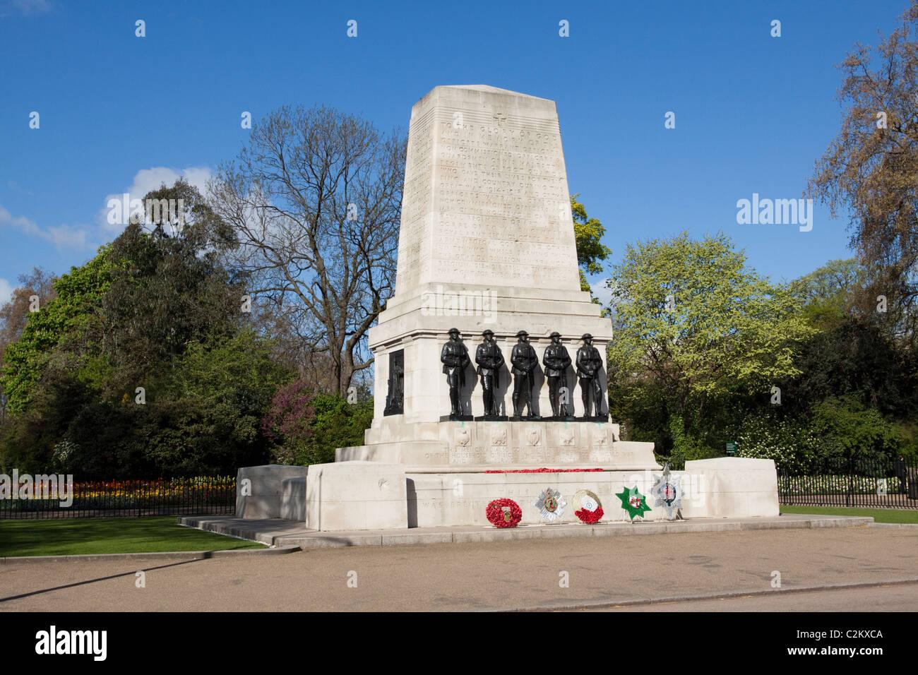 Guards Memorial, Horse Guards Parade,London, England, UK - Stock Image