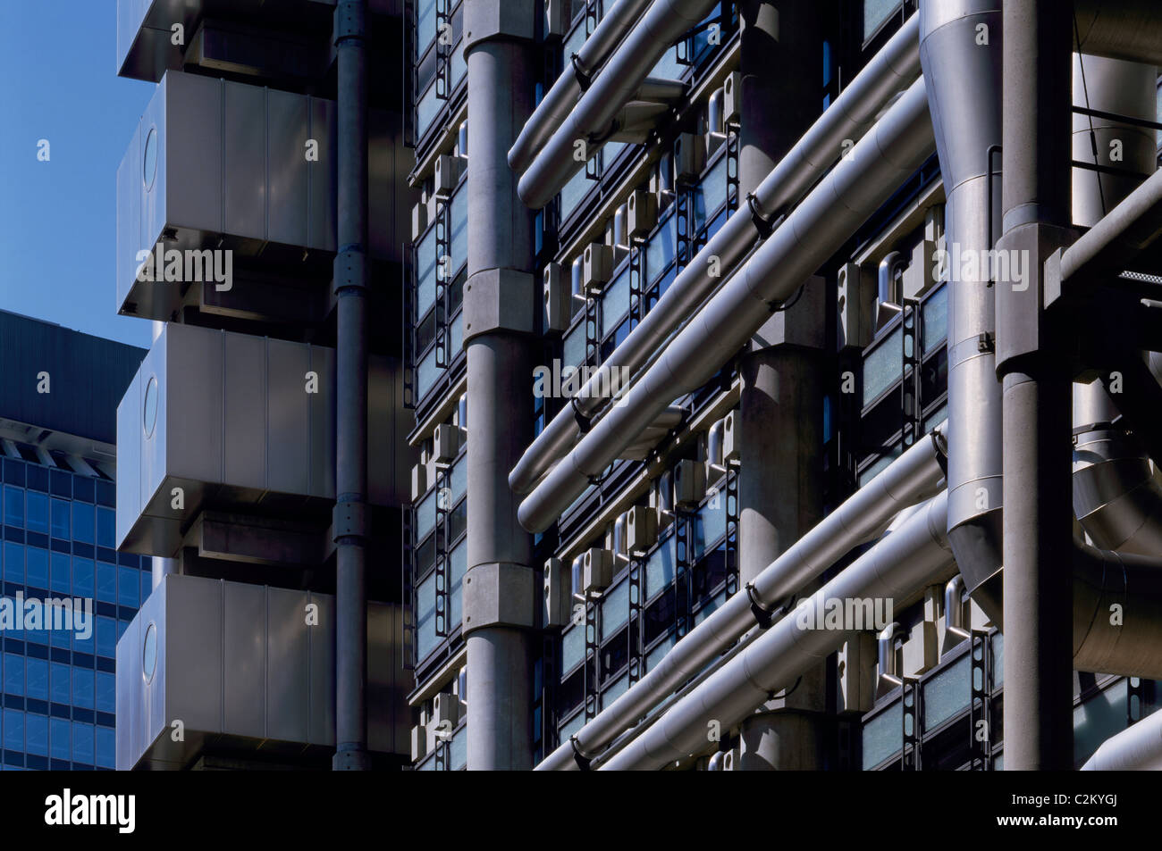Lloyd's of London Building, Lime Street, City of London. - Stock Image