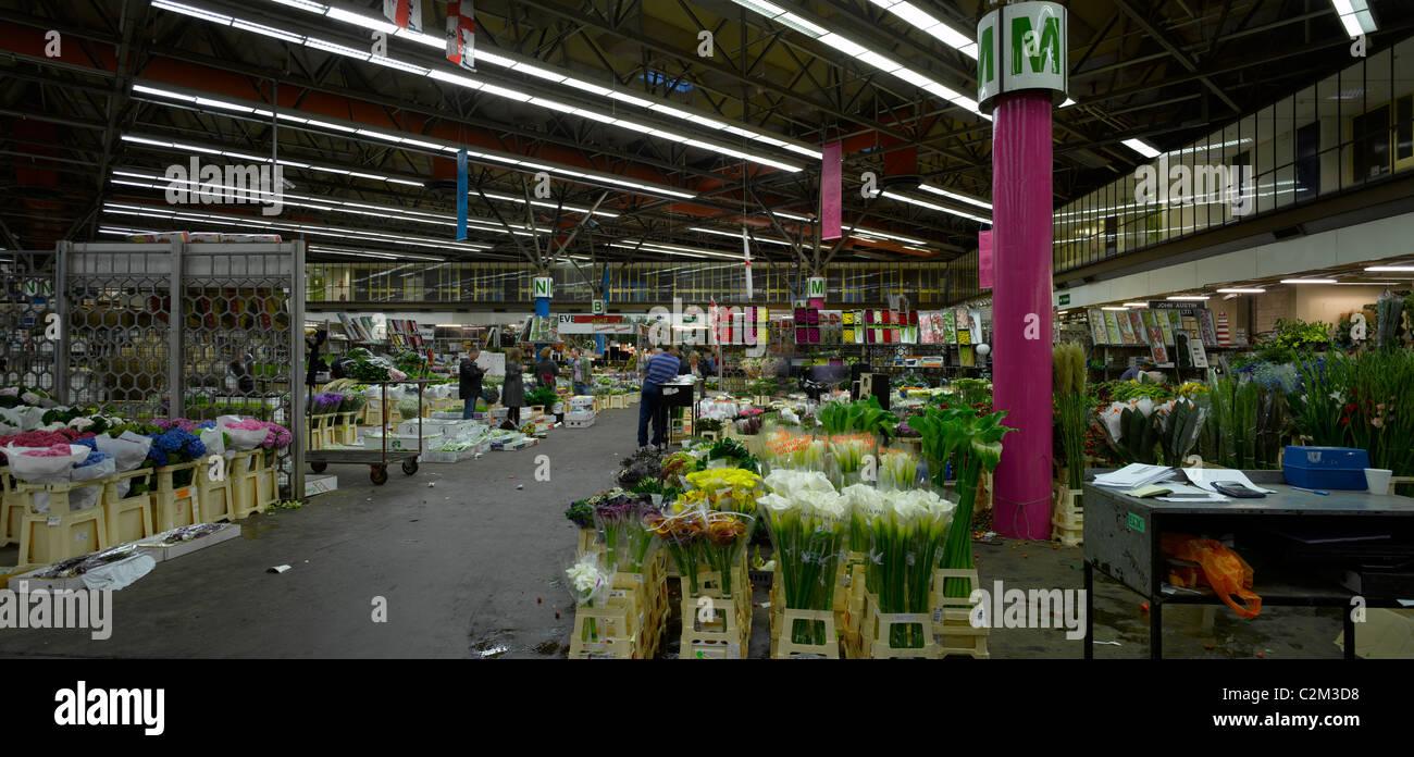 New Covent Garden Flower Market Nine Elms London Stock Photo Alamy