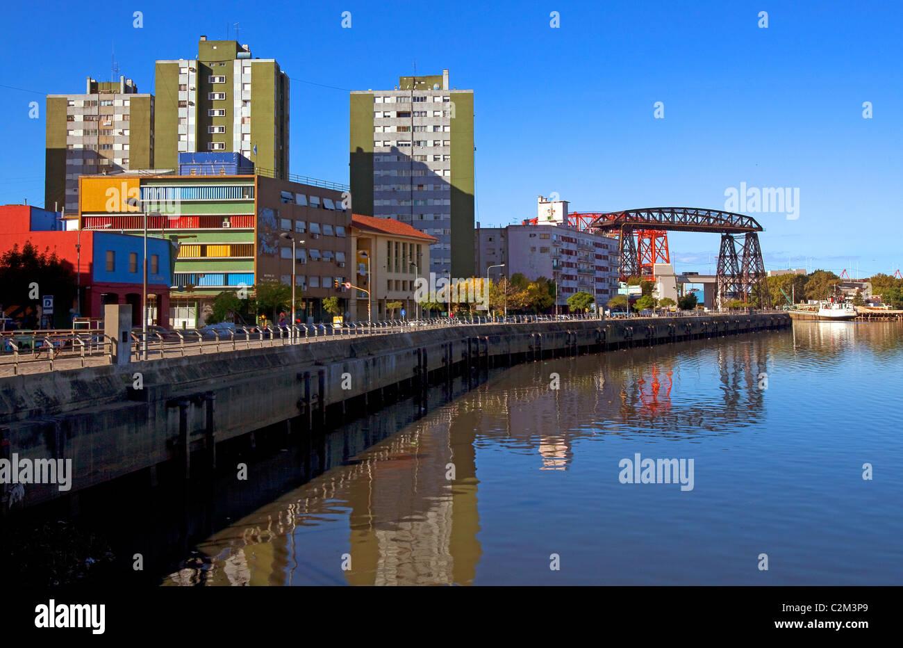 La Boca Port, Buenos Aires, Argentina. Stock Photo