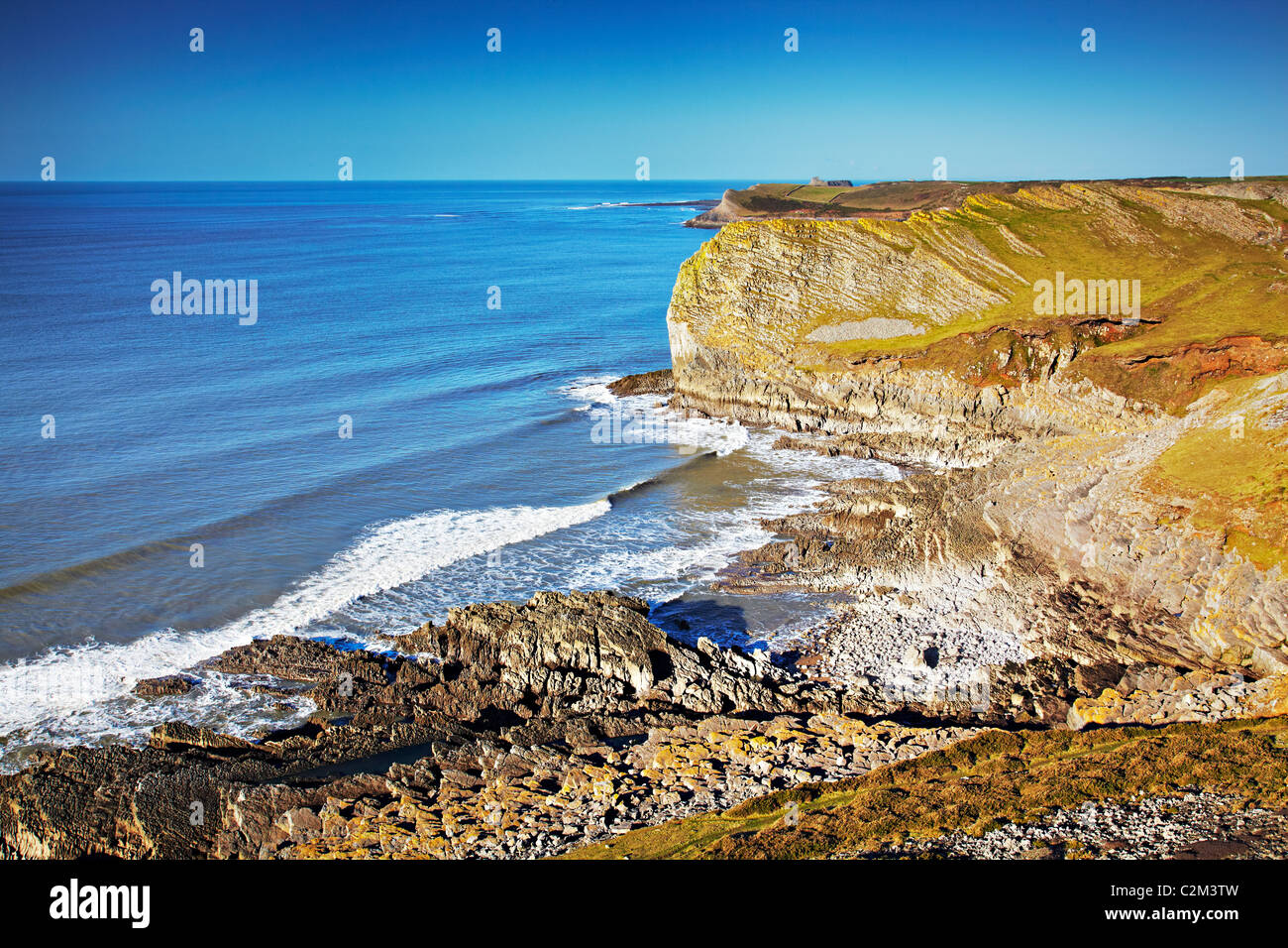 Red Chamber, Gower, Wales - Stock Image