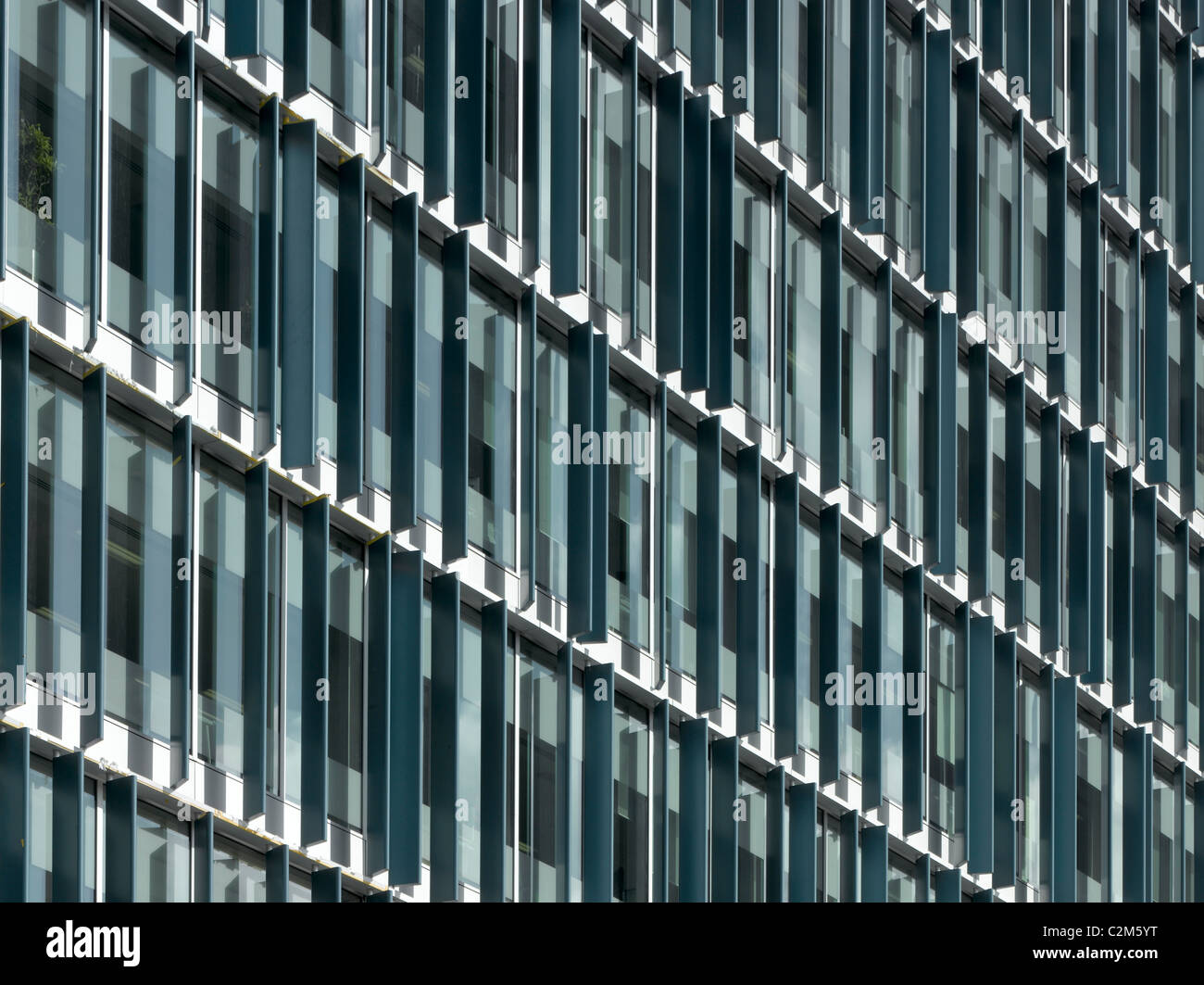 Bankside 1 facade, Southwark, London. - Stock Image