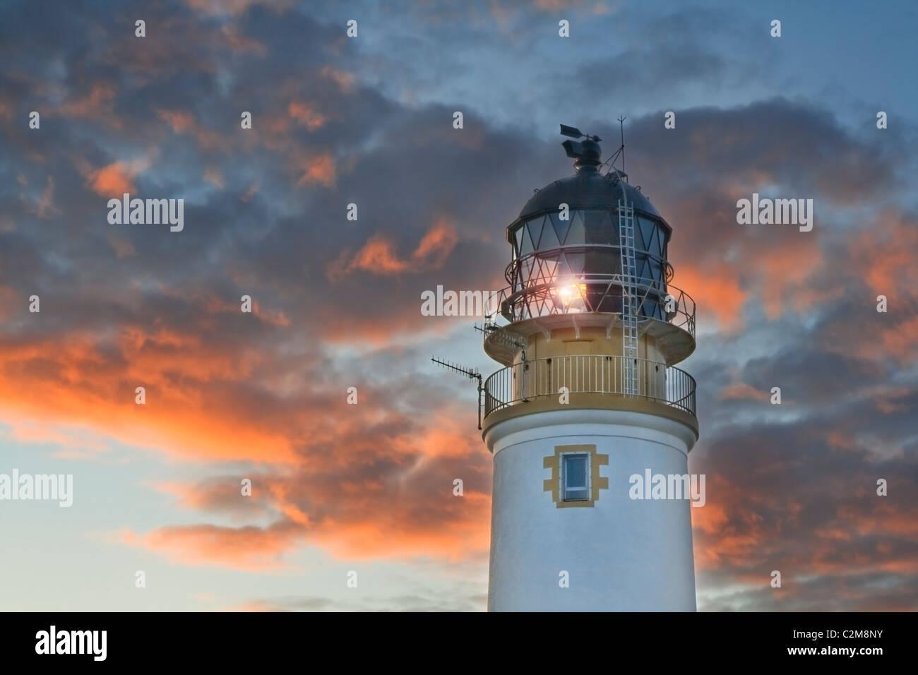 Rua Reidh Lighthouse - Stock Image