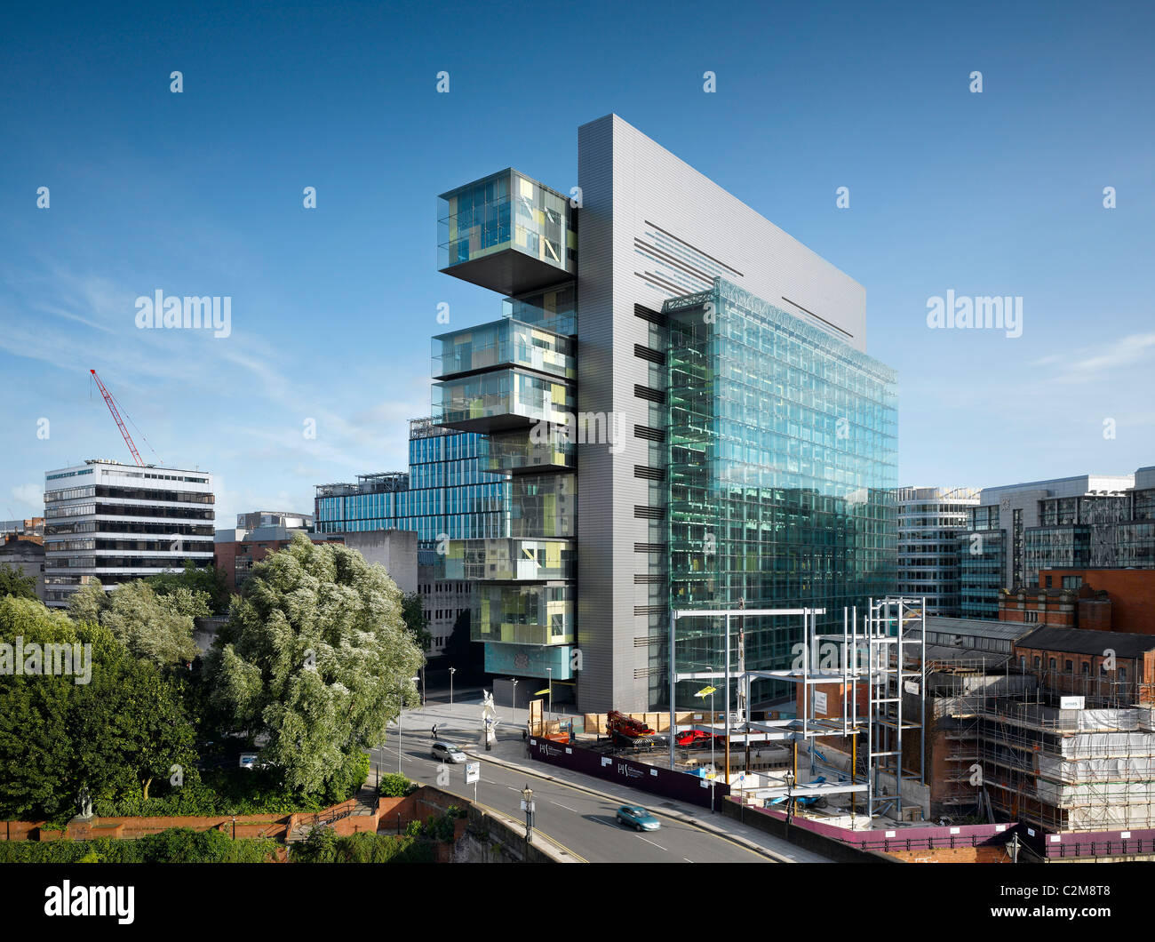 Manchester Civil Justice Centre - Stock Image