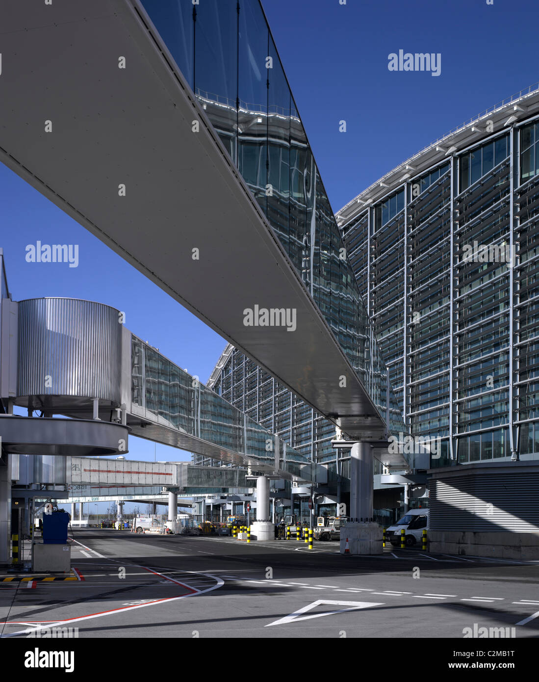 Terminal 5, Heathrow Airport, London. - Stock Image
