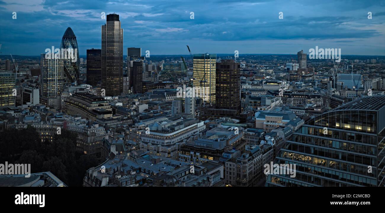 London Panoramas, London. - Stock Image