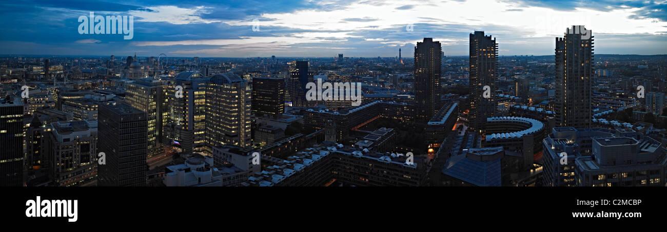 London Panorama - Stock Image