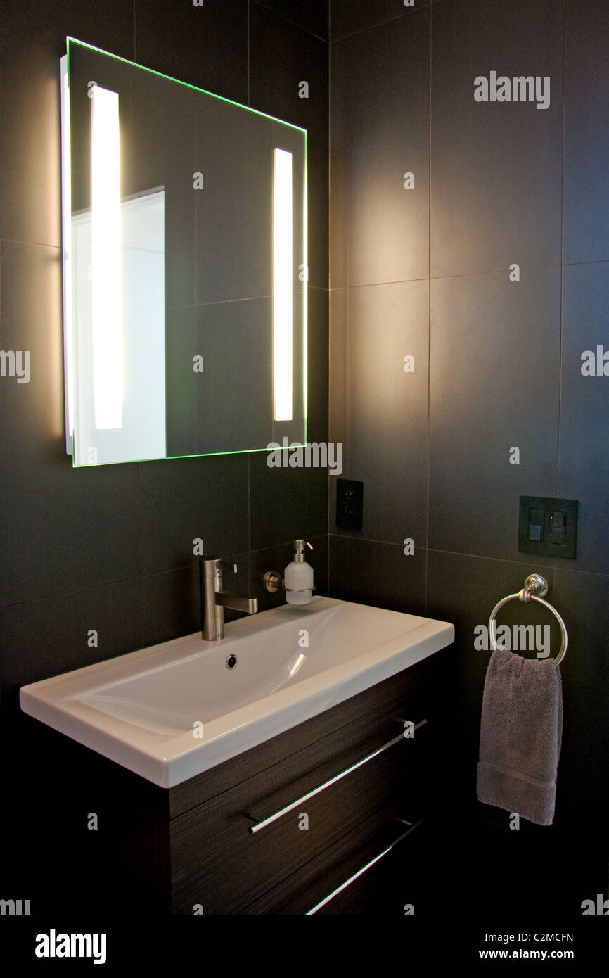 Bathroom Cabinet Modern Stock Photos Bathroom Cabinet Modern Stock - Modern bathroom furnishings