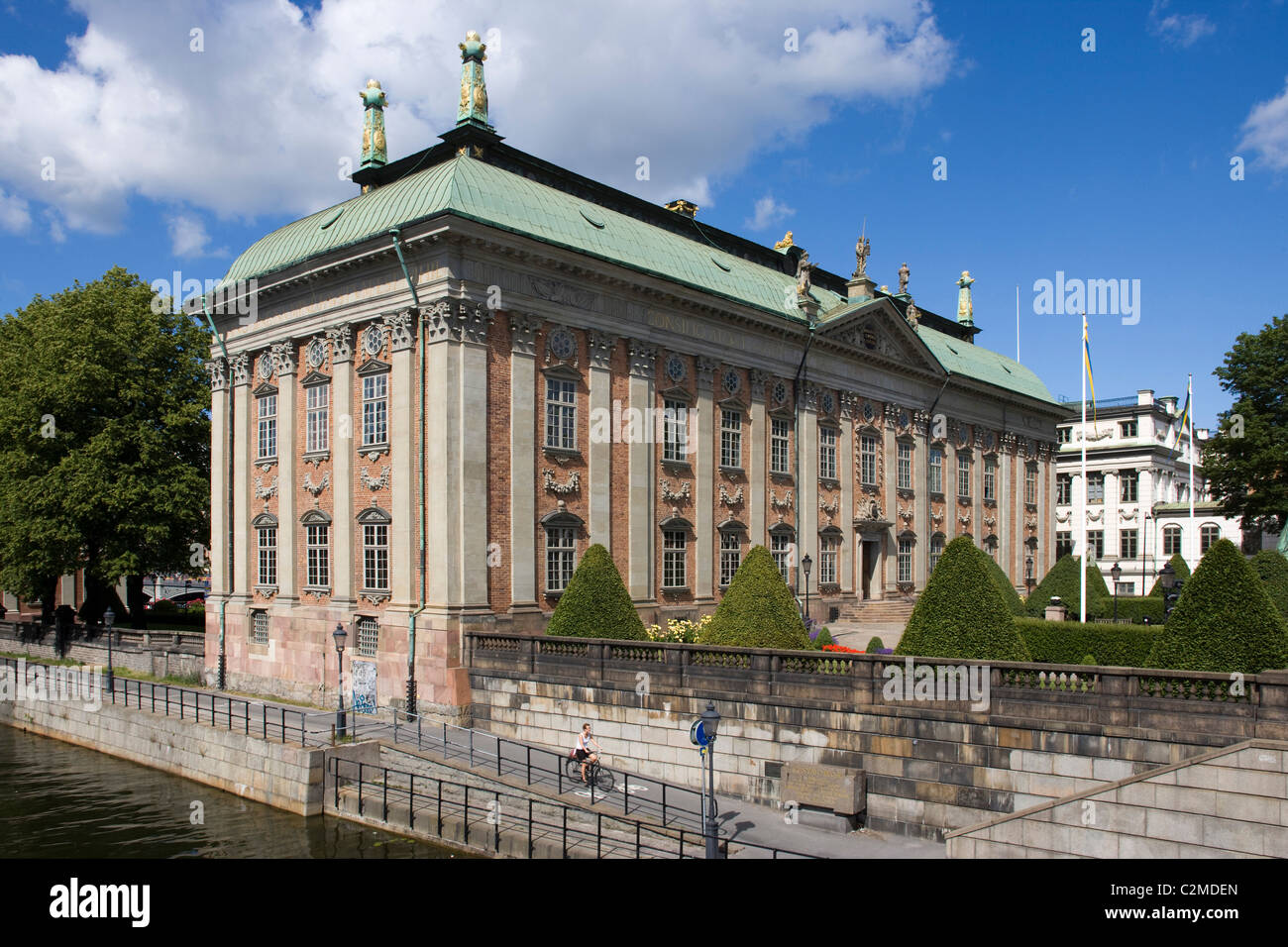 The Swedish House of Lords (Riddarhuset), Stockholm. - Stock Image