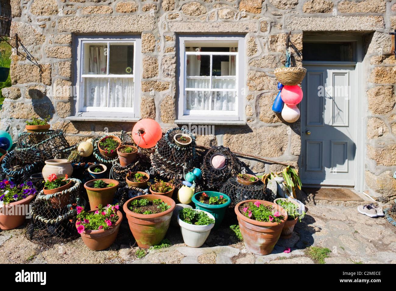 Cornish Crab Pots Stock Photos Amp Cornish Crab Pots Stock