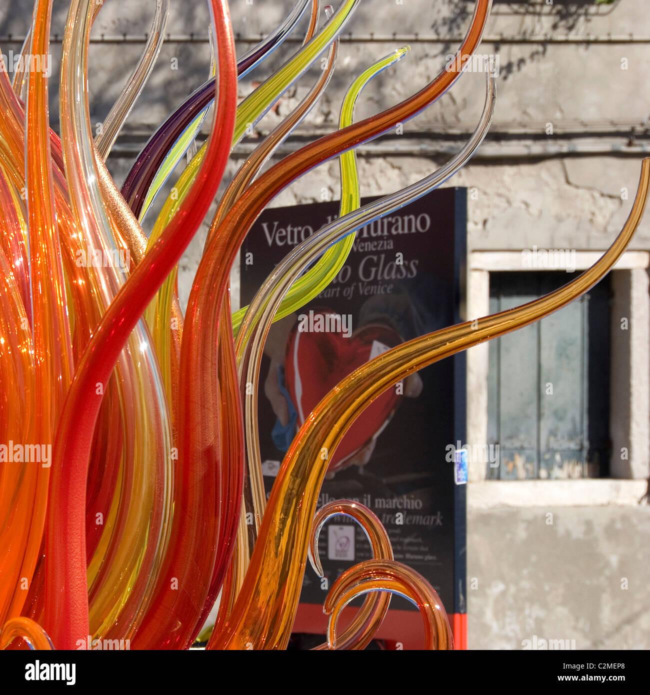 Fornace Mian, Murano, Vivarini Glass. - Stock Image