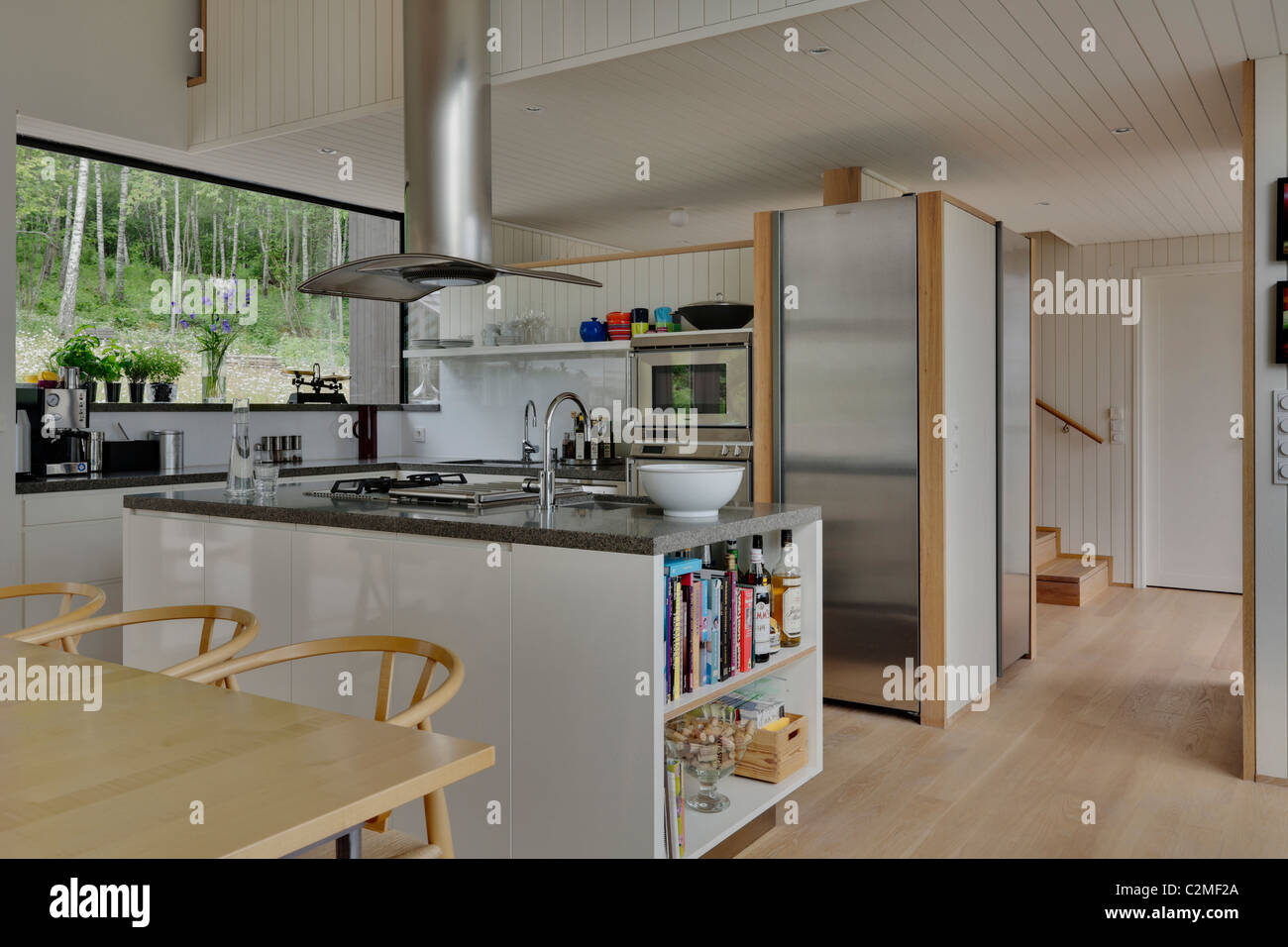 Kitchen Extractor Hoods High Resolution Stock Photography And Images Alamy