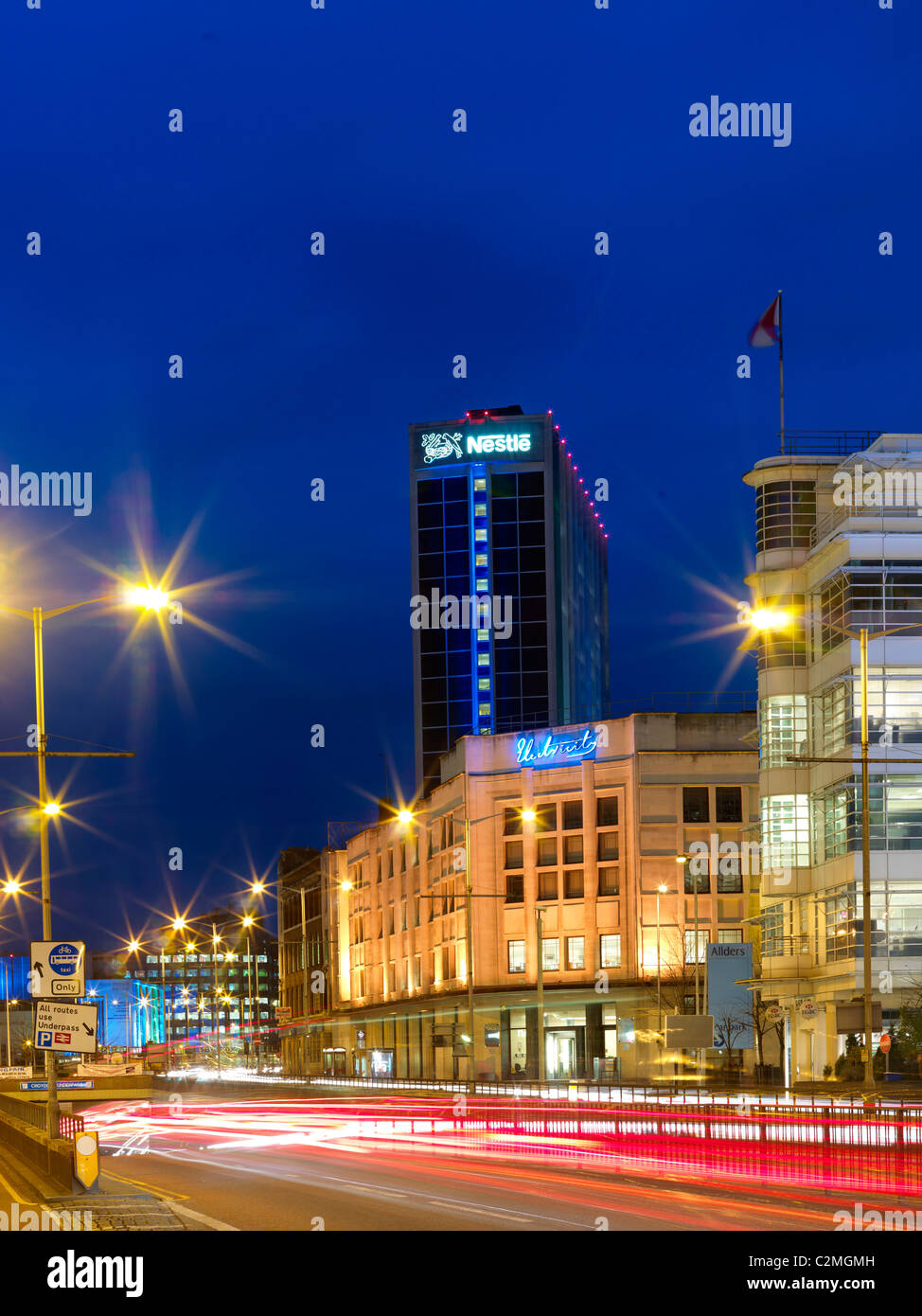 General views of City Centre, Croydon - Stock Image
