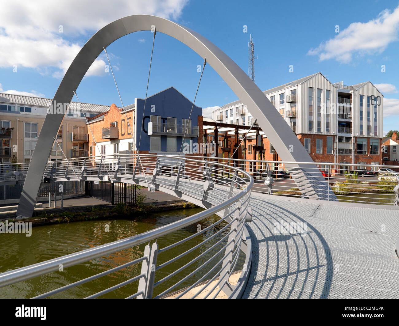 Electric Wharf, Coventry - Stock Image