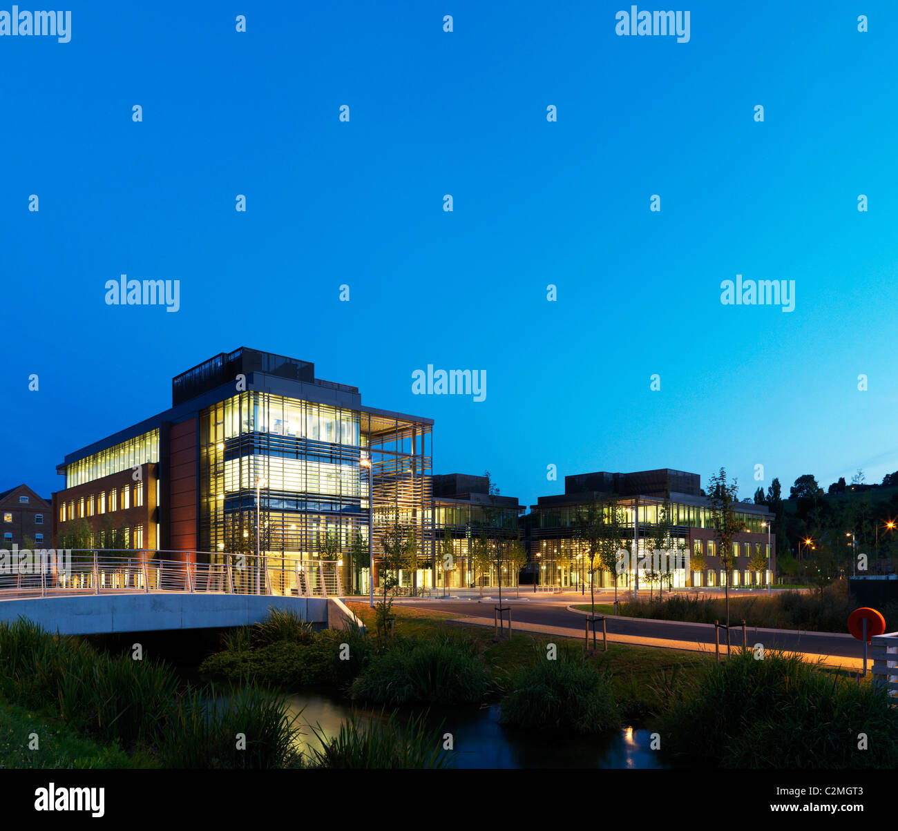 Glory Park, Wooburn Green, High Wycombe. An environmentally conscious business park. Grade A BREEAM 'excellent' - Stock Image
