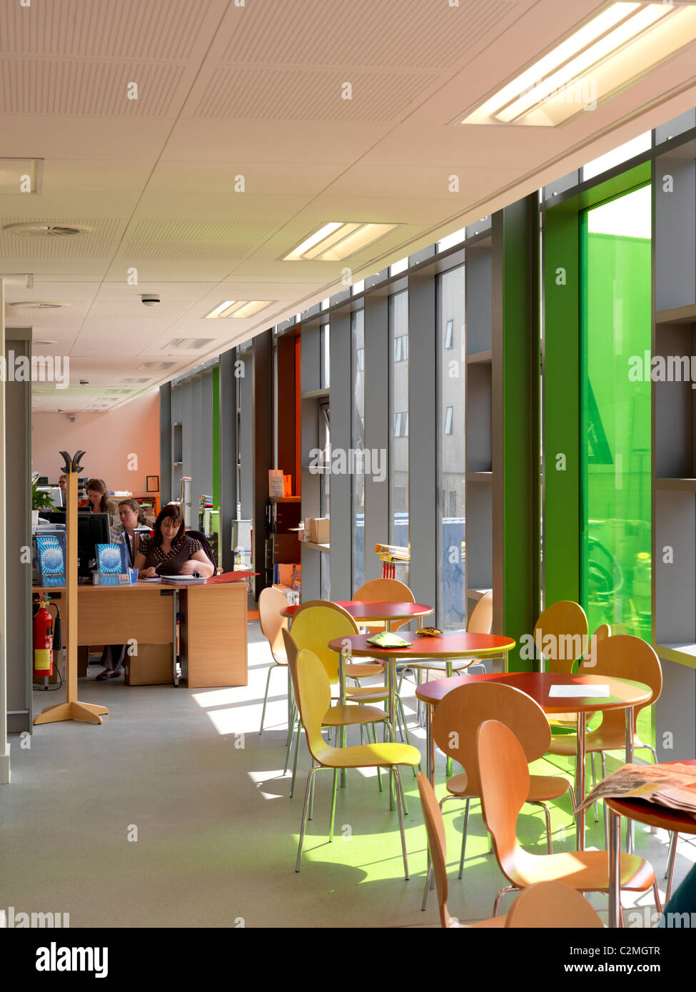 Herefordshire College of Technology, Hereford Learning Village, Hereford - Stock Image