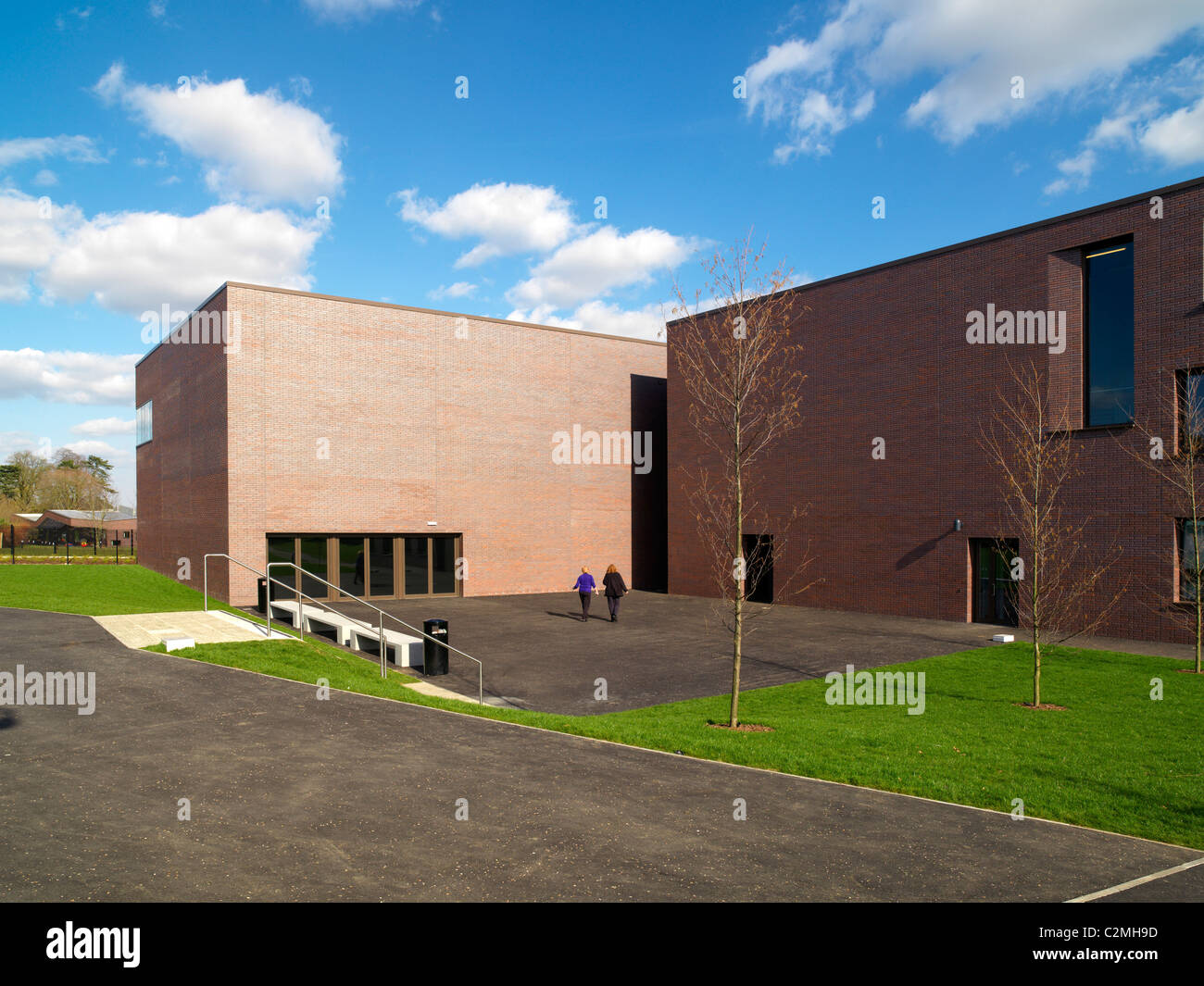 Surrey County Council Christ's College and Pond Meadow School, Guildford. New special needs primary school and - Stock Image