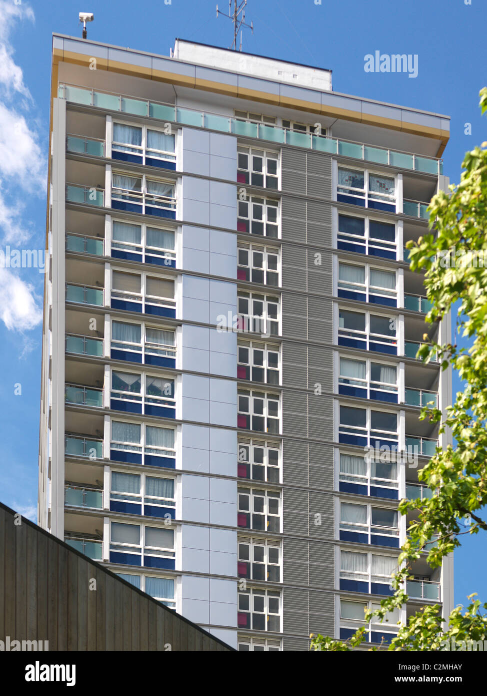 Westminster CC Citywest Homes Warwick High Rise, Westminster, London Stock Photo