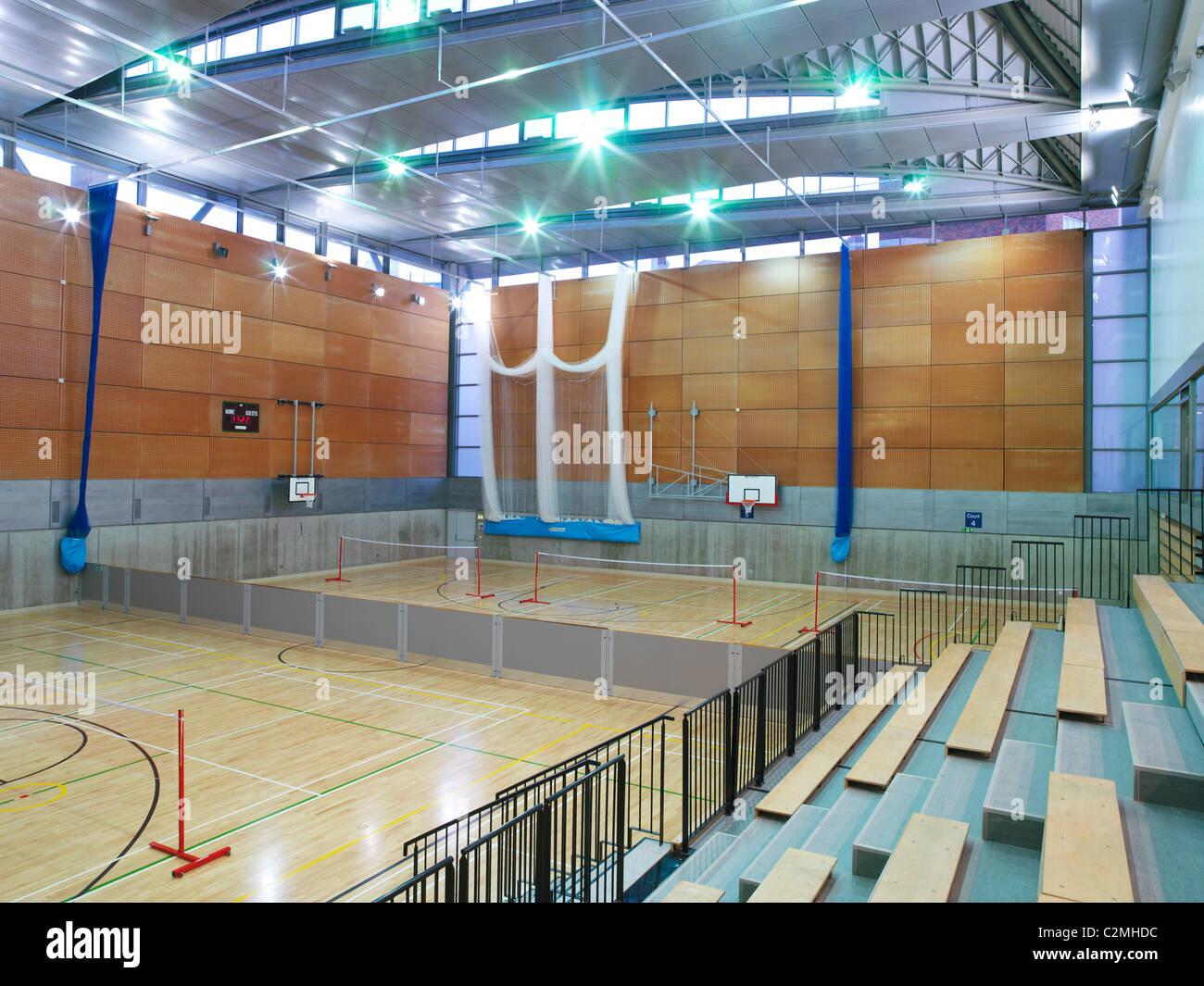 LB Hackney Clissold Leisure Centre, Hackney, London - Stock Image