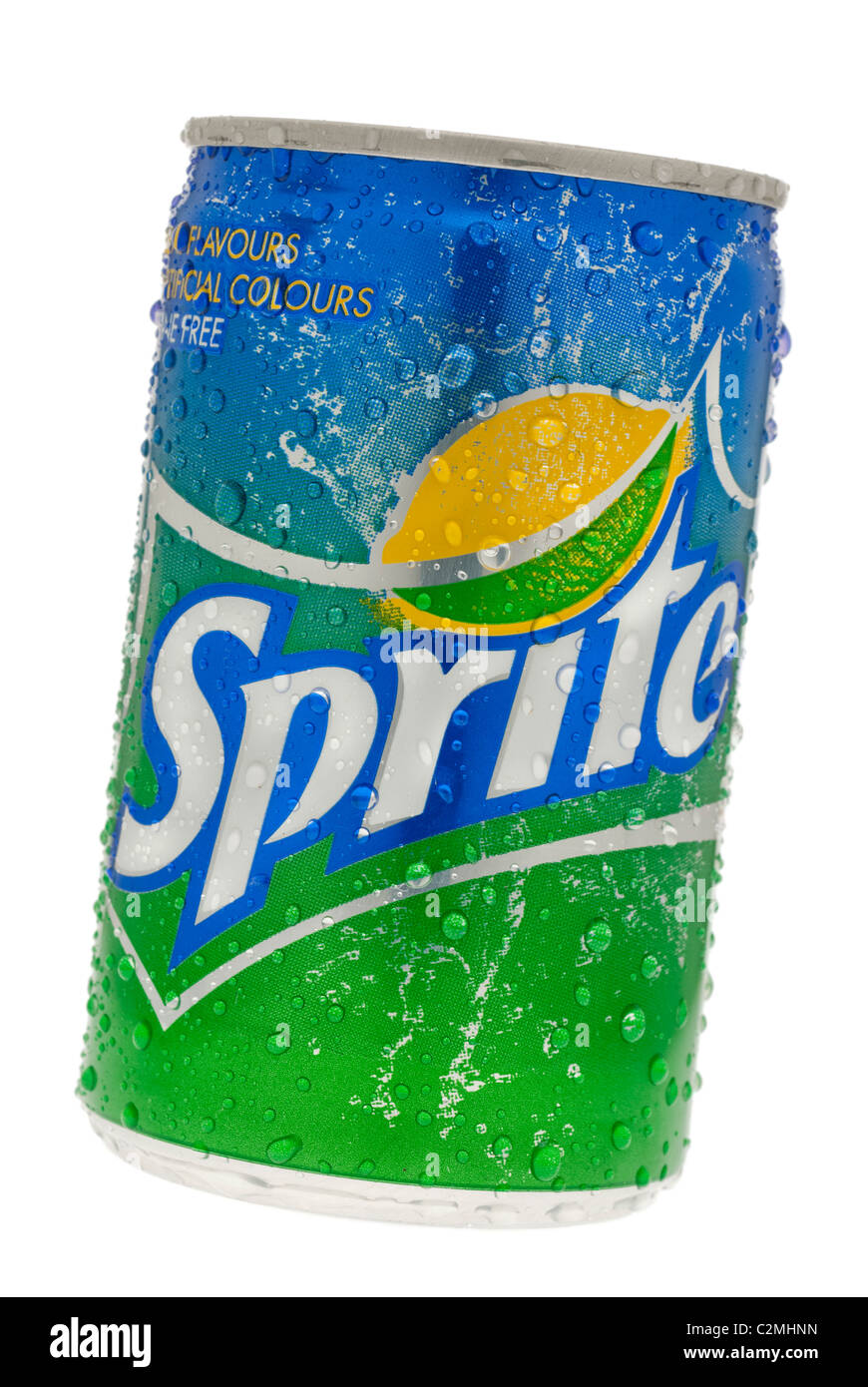 Can of Sprite Lemon and Lime Soft Drink - Stock Image