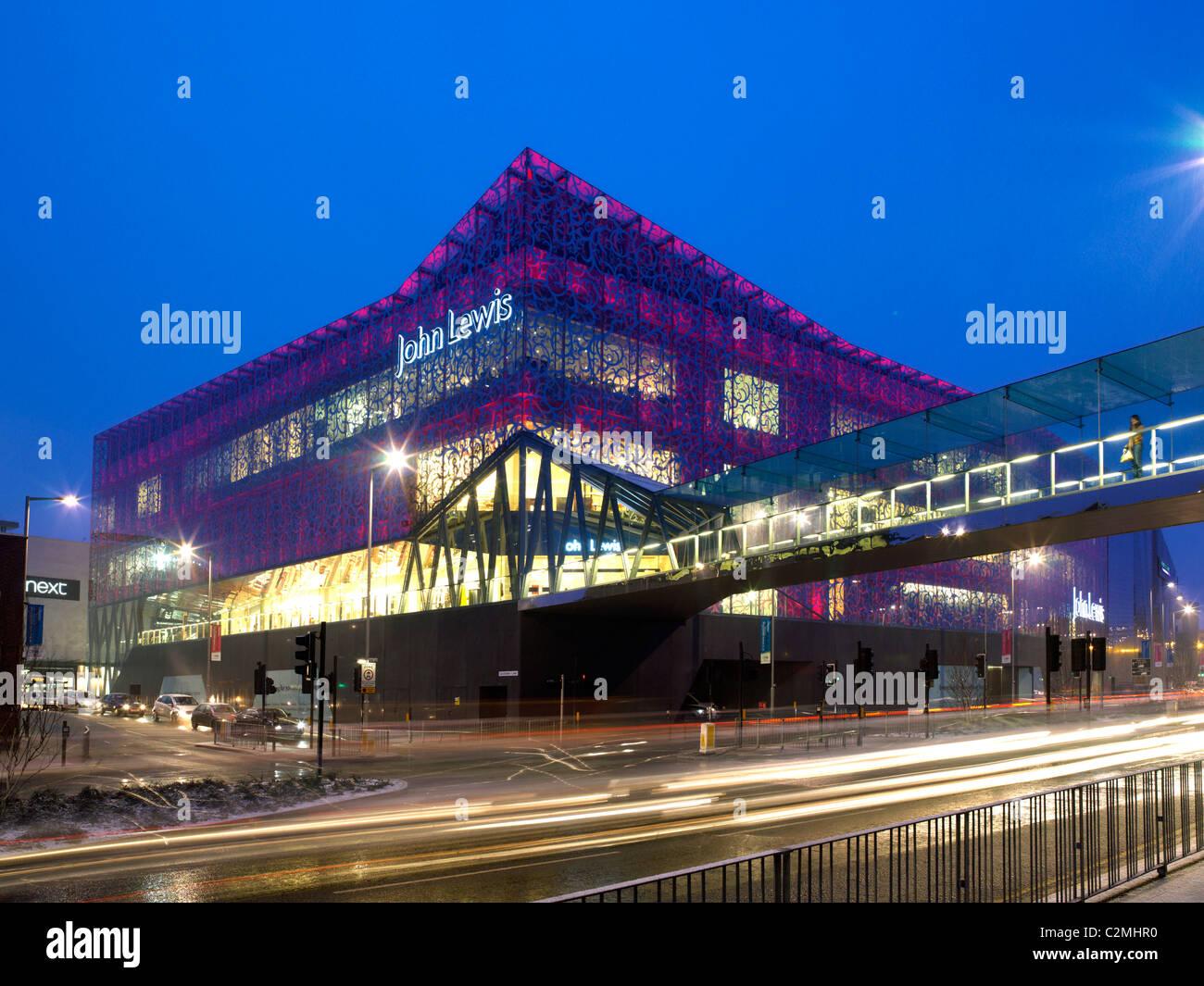 John Lewis Partnership, John Lewis Leicester - Stock Image