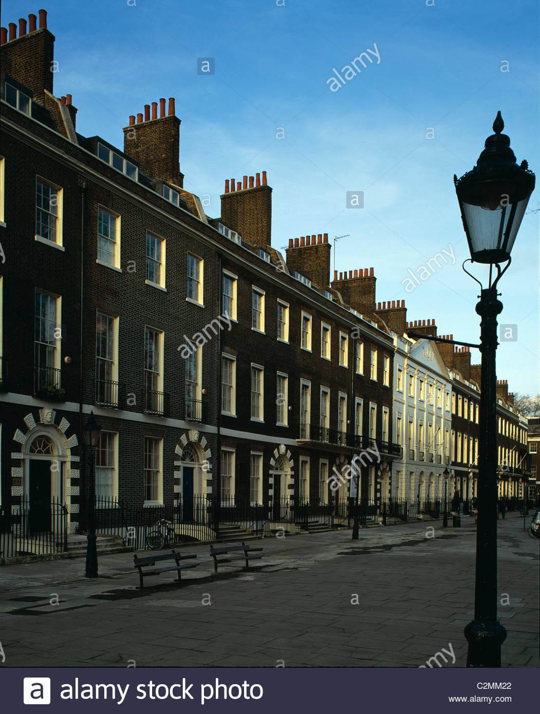 Bedford Square, Bloomsbury, London. 1775-1783 - Stock Image