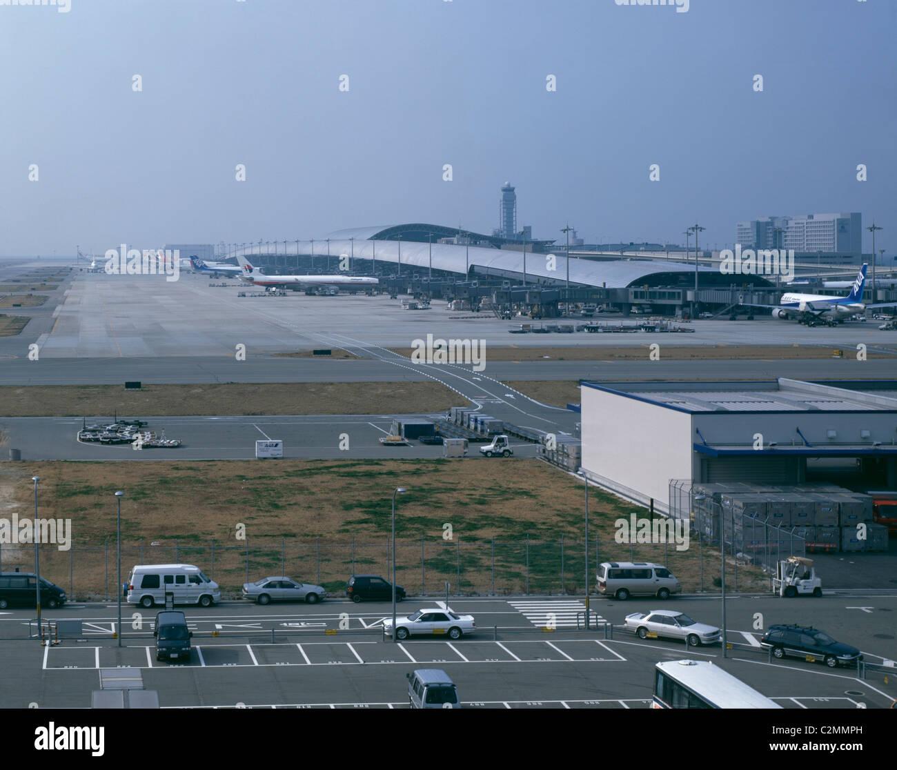 Kansai Airport, Osaka. Overall exterior. - Stock Image