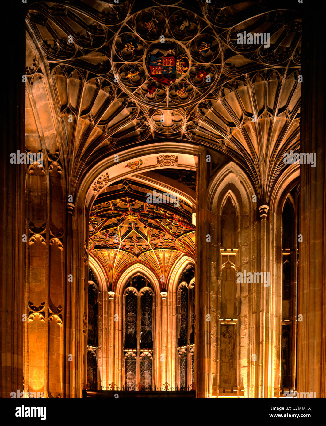 fan vaulted ceiling st georges chapel windsor castle