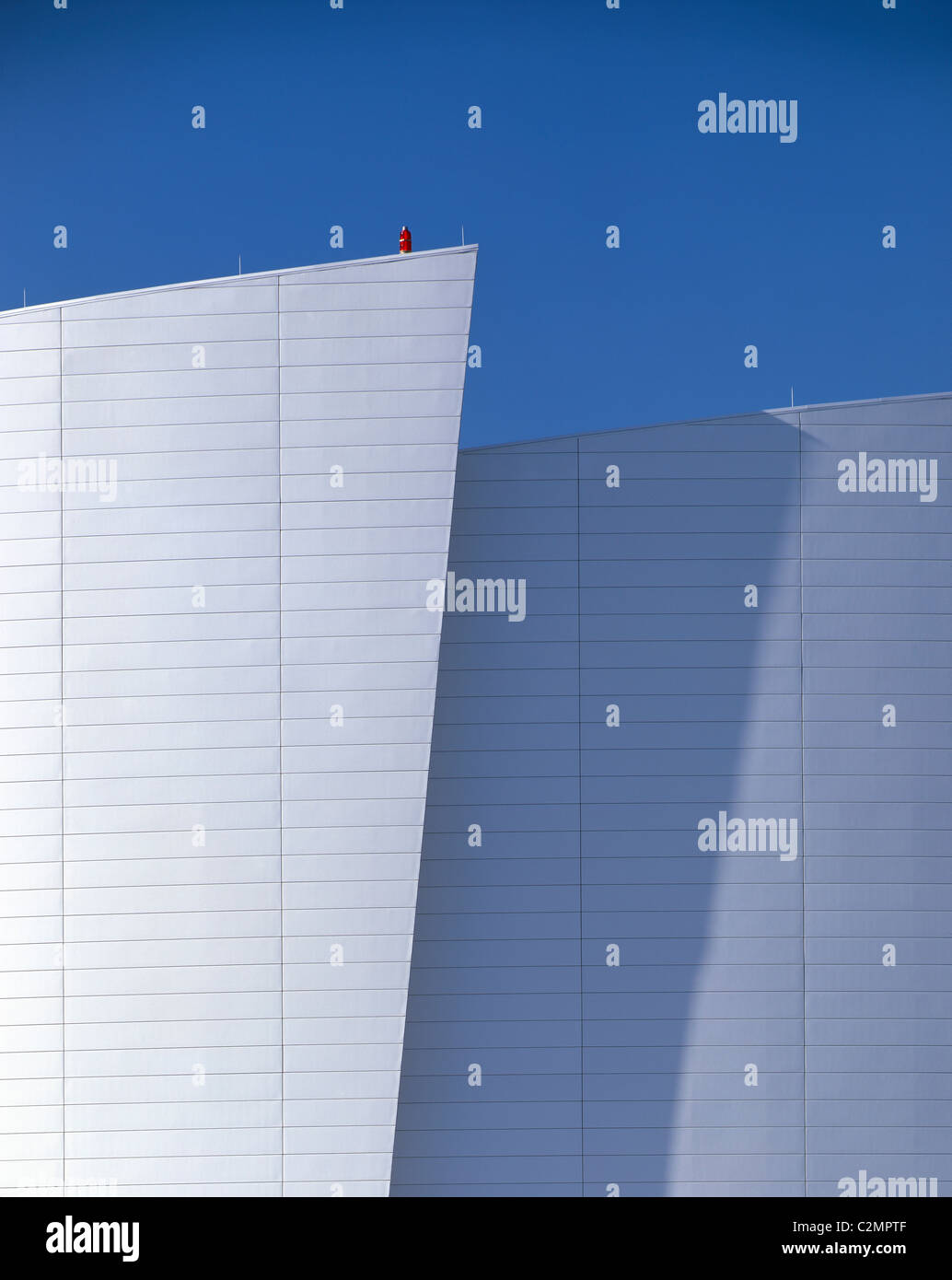 Detail of American Airlines Arena building, Miami, 1999. - Stock Image
