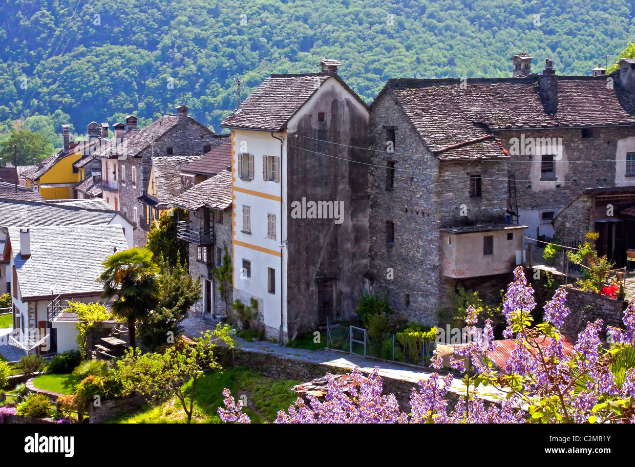 Valle Onsernone - Stock Image