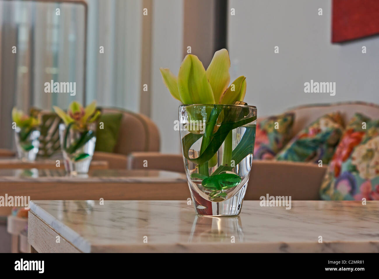 The lounge - Stock Image
