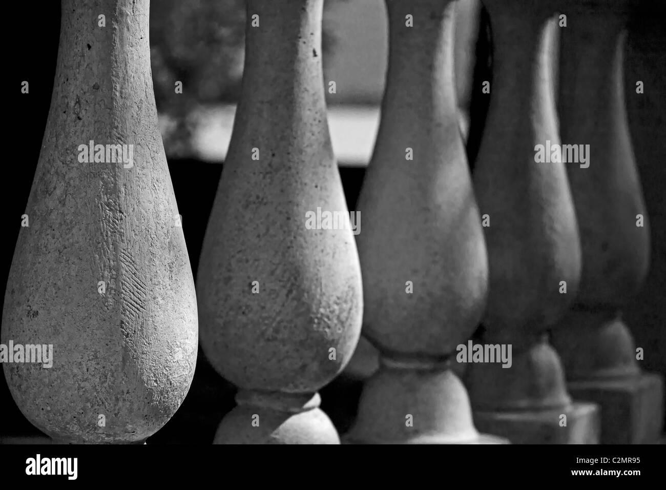 roman columns - Stock Image